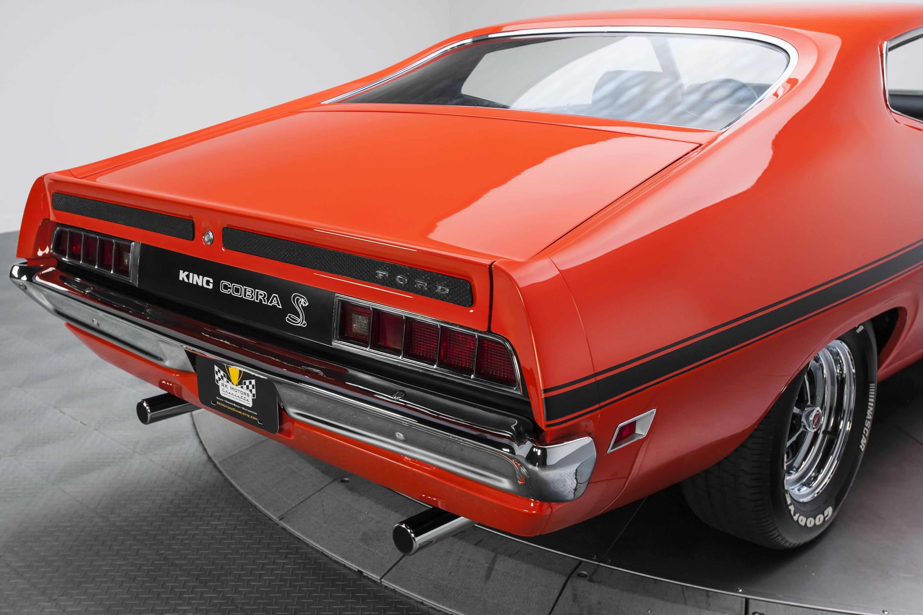 Ford Torino King Cobra tail
