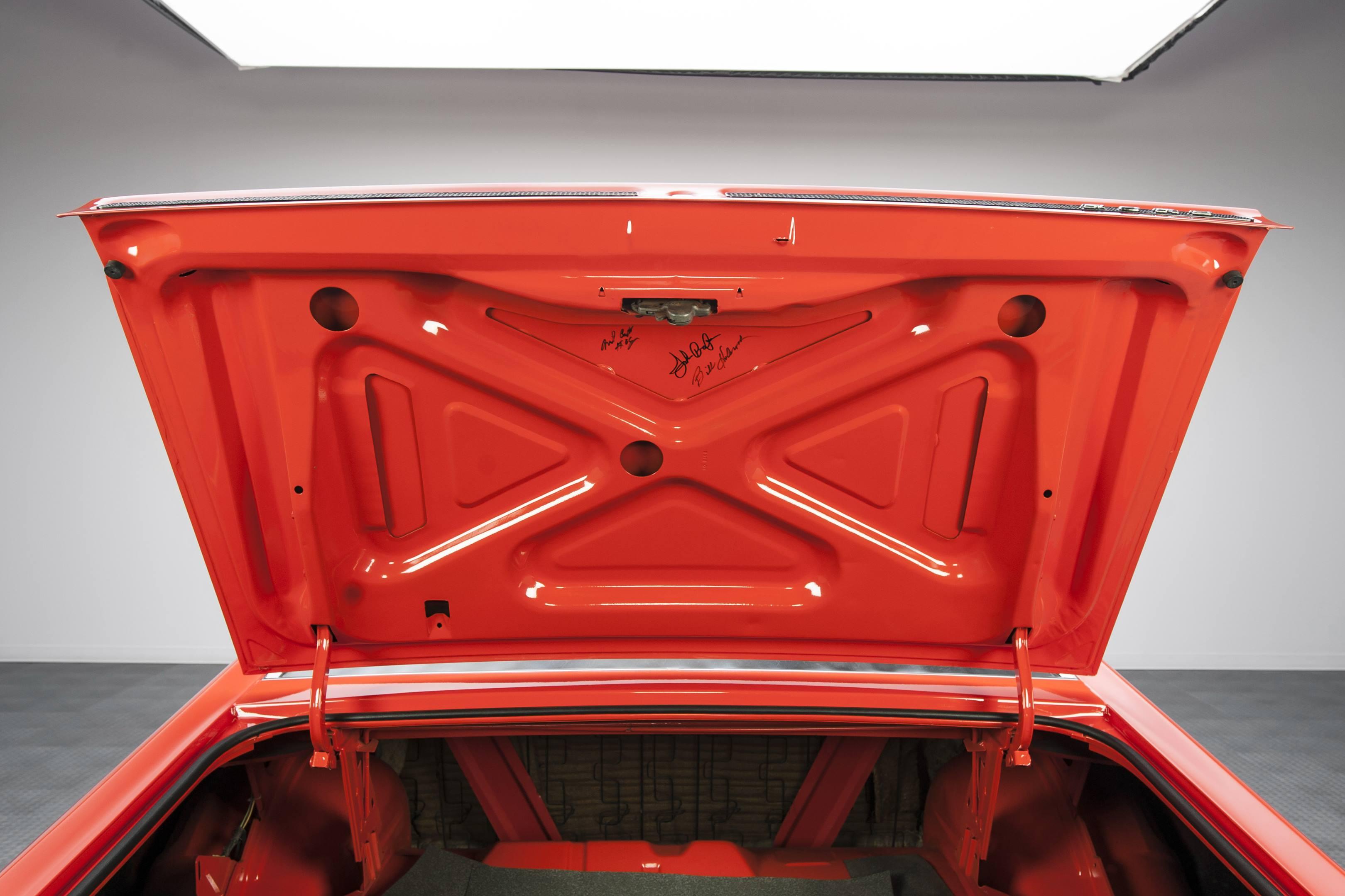 Ford Torino King Cobra trunk