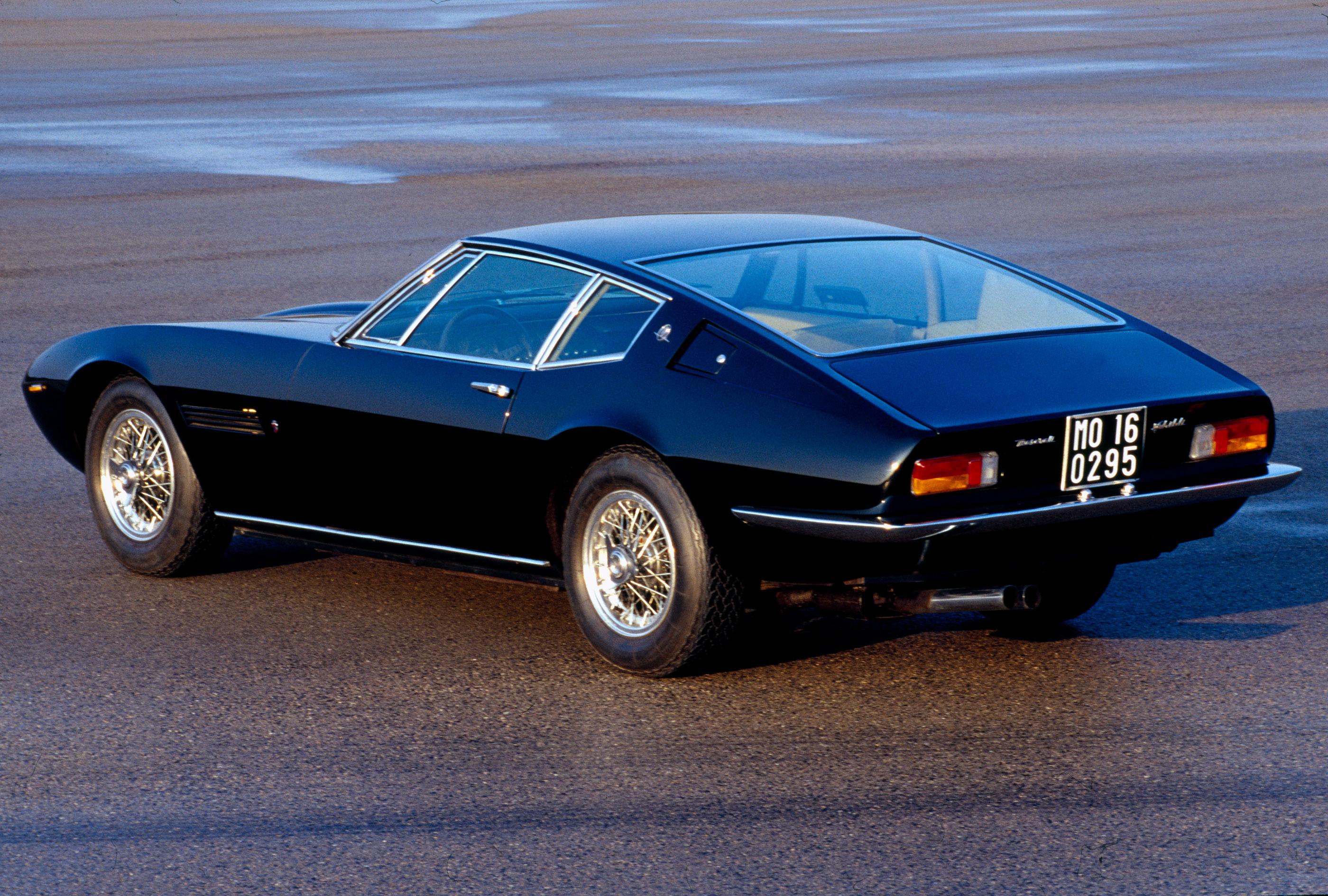 Maserati Ghibli rear 3/4