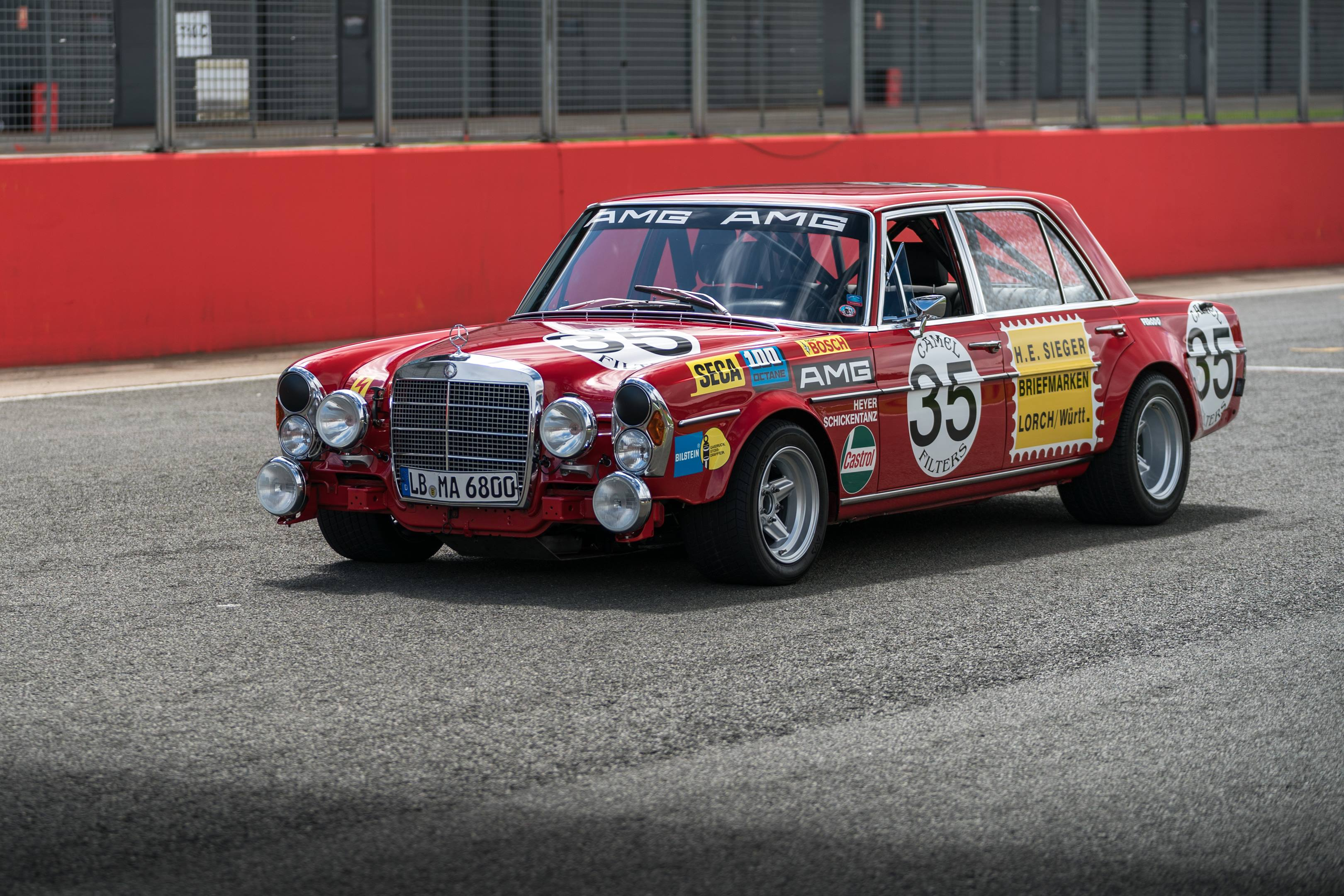 How Mercedes-Benz skirted a racing ban with AMG's Red Pig thumbnail