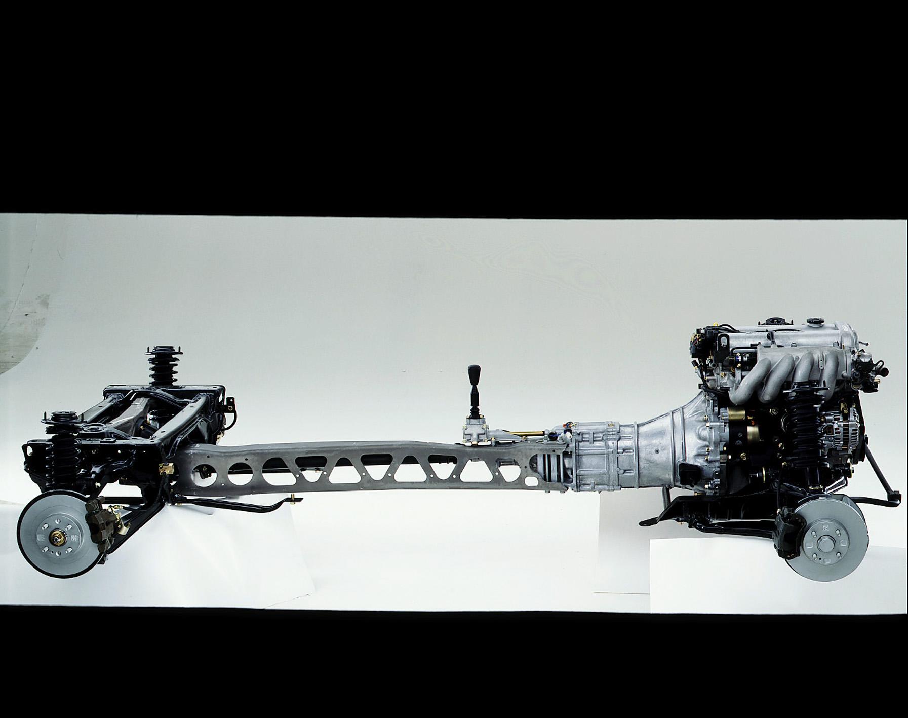 1990 mazda mx5 miata chassis suspension