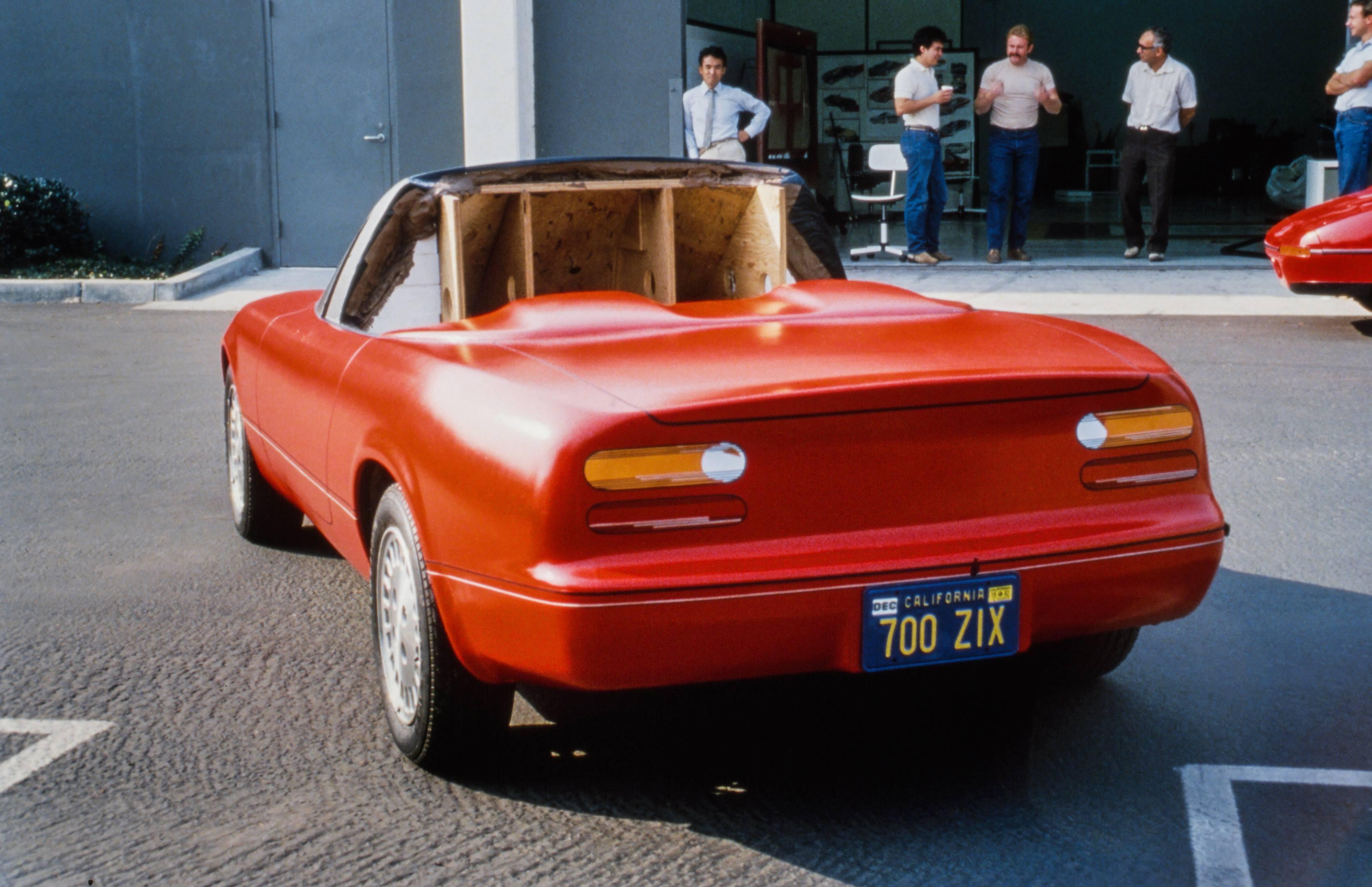 miata mx5 test rear taillights