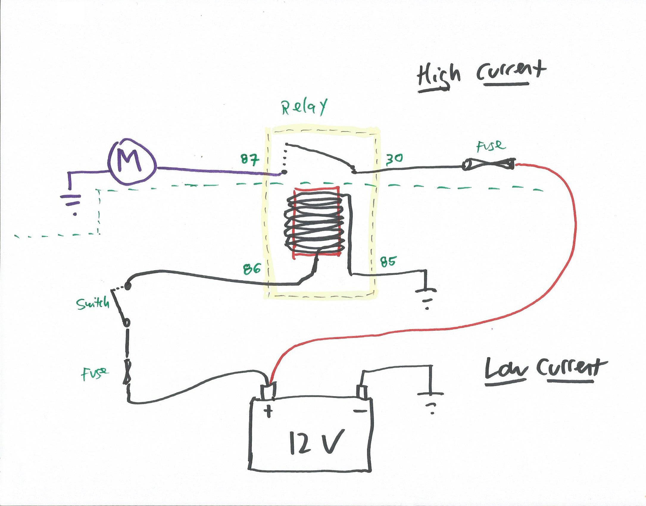 4 pole relay wiring diagram understanding relays  part 3 troubleshooting hagerty media  understanding relays  part 3