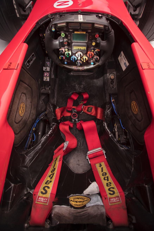 2001 Ferrari F2001 cockpit