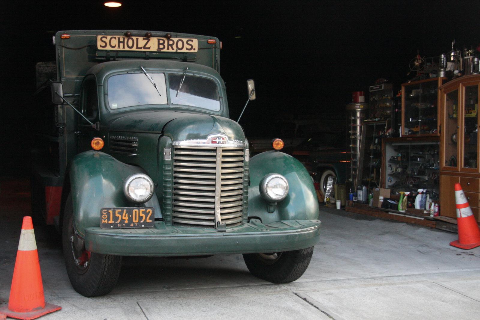 1947 International KB6 soda delivery truck