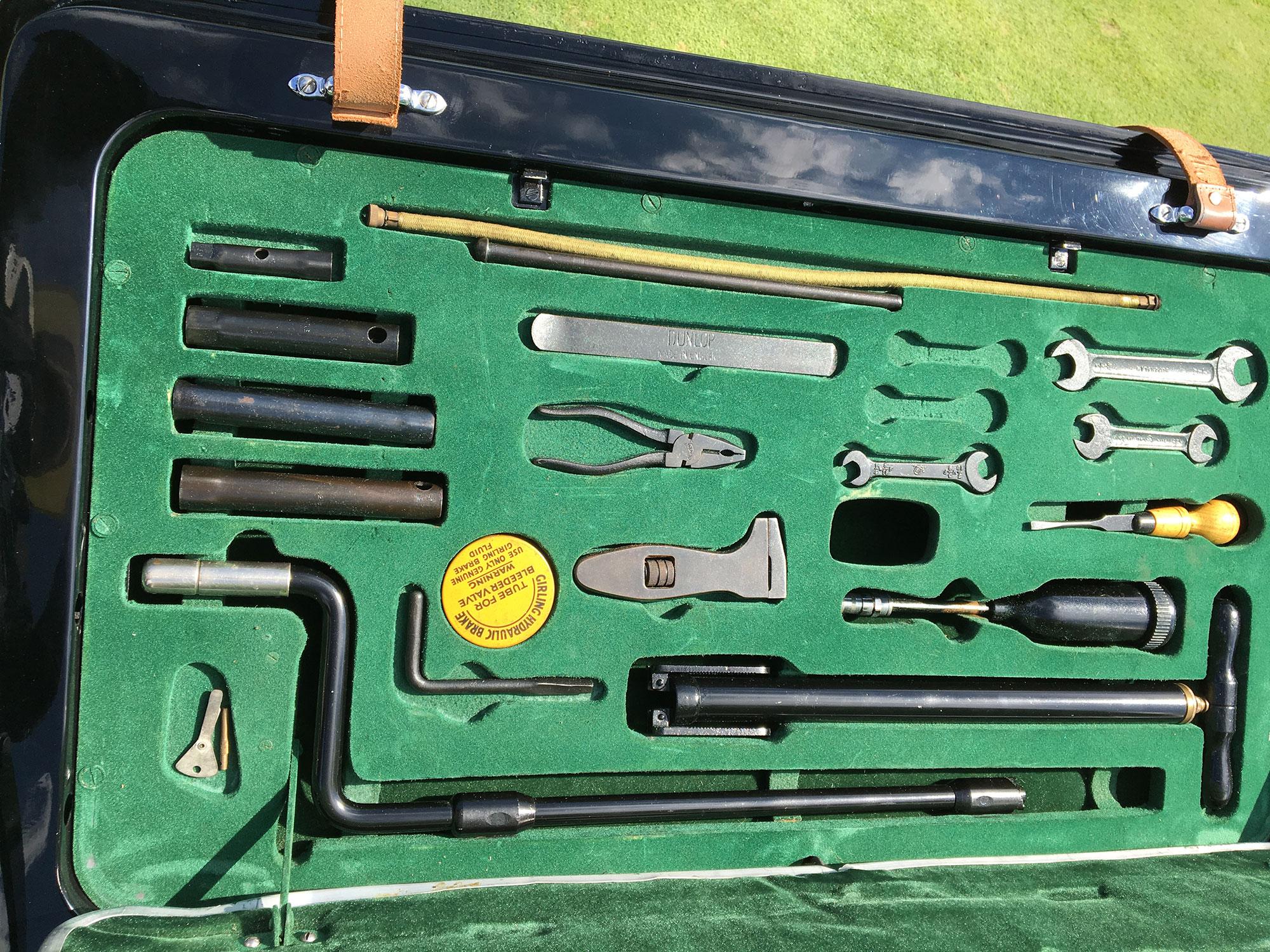 Jaguar mark v mkv tool kit