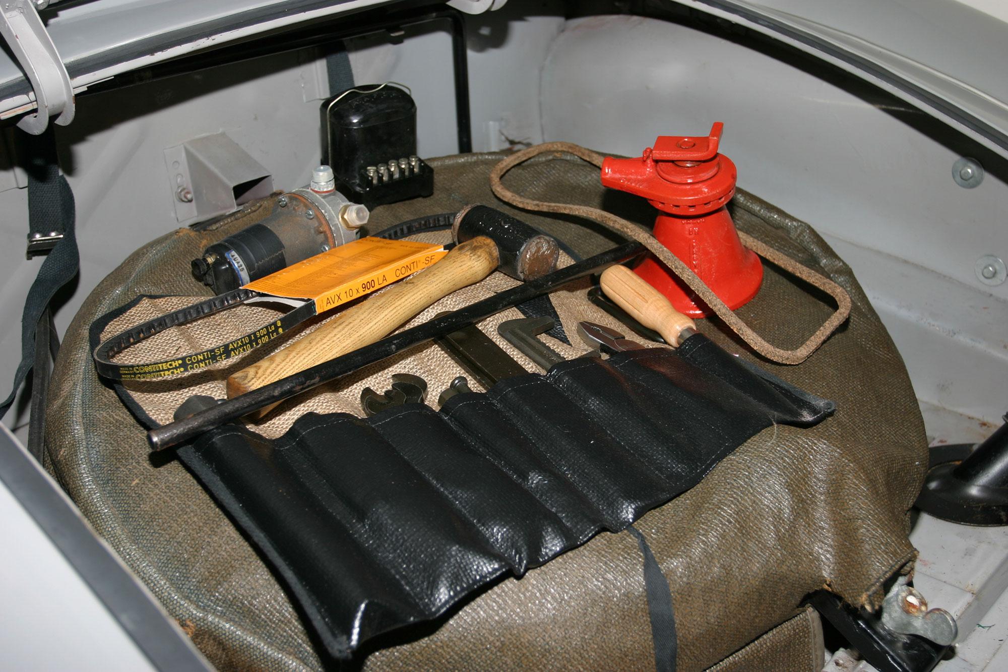 MGA tool kit trunk