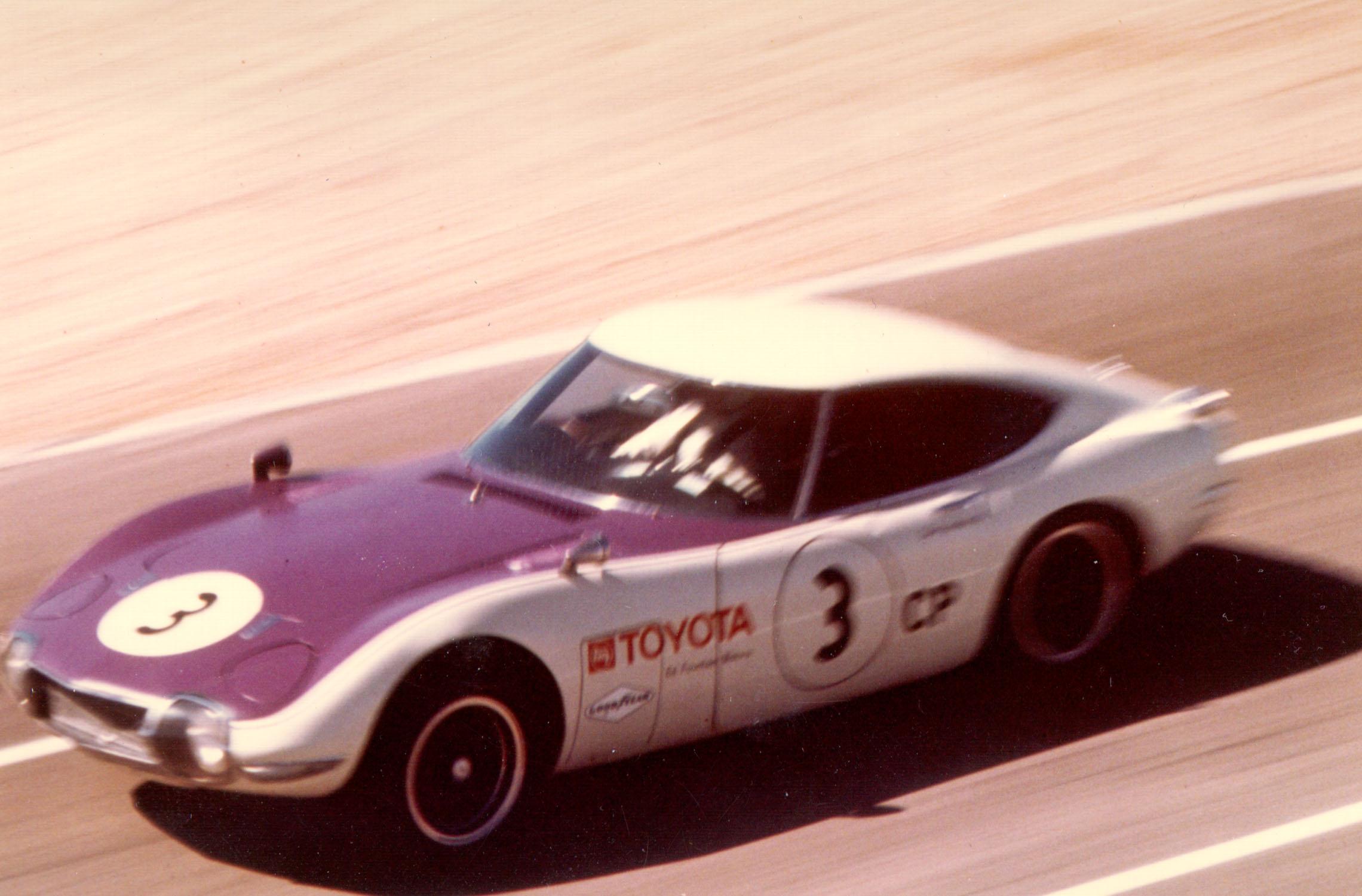 1968 Toyota 2000GT Las Vegas Raceway