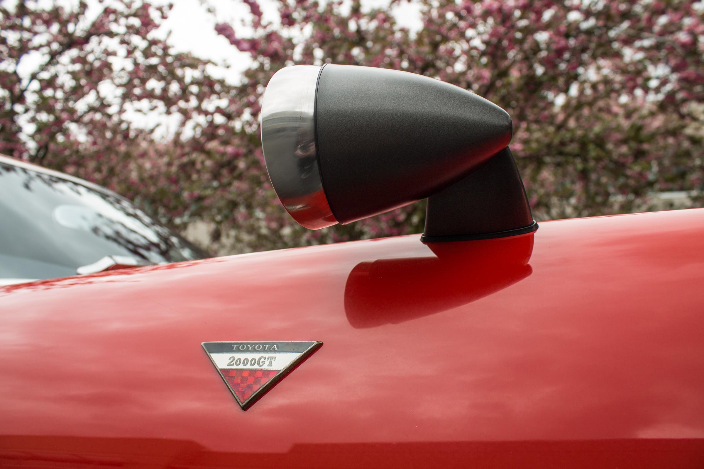 Toyota 2000GT detail