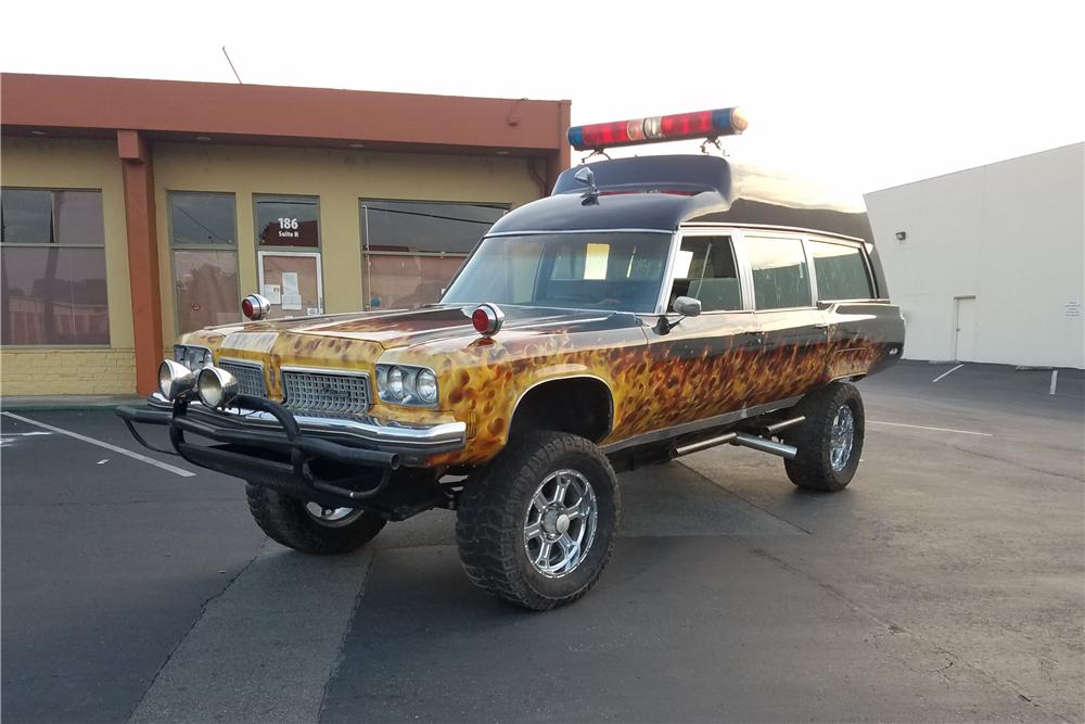 1973 Oldsmobile Custom Ambulance