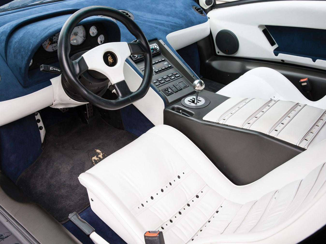 1995 Lamborghini Diablo interior