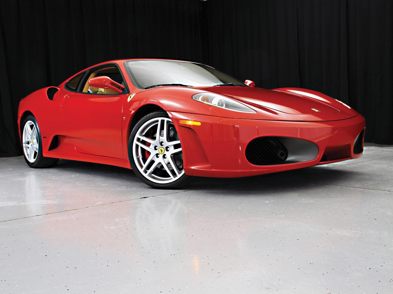 2006 Ferrari F430 coupe red