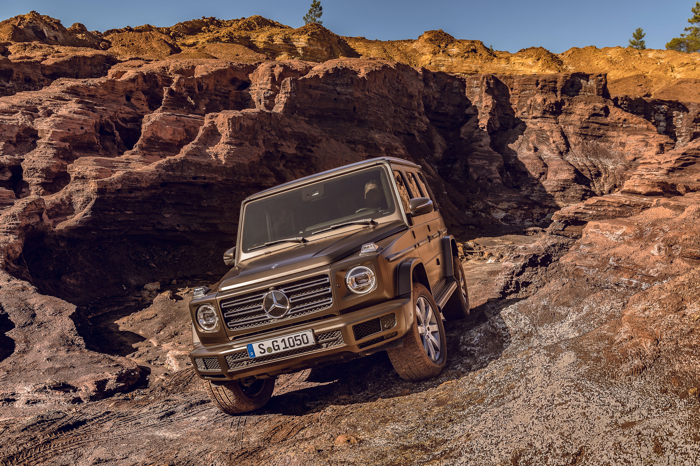 2019 Mercedes-Benz G-Class off roading