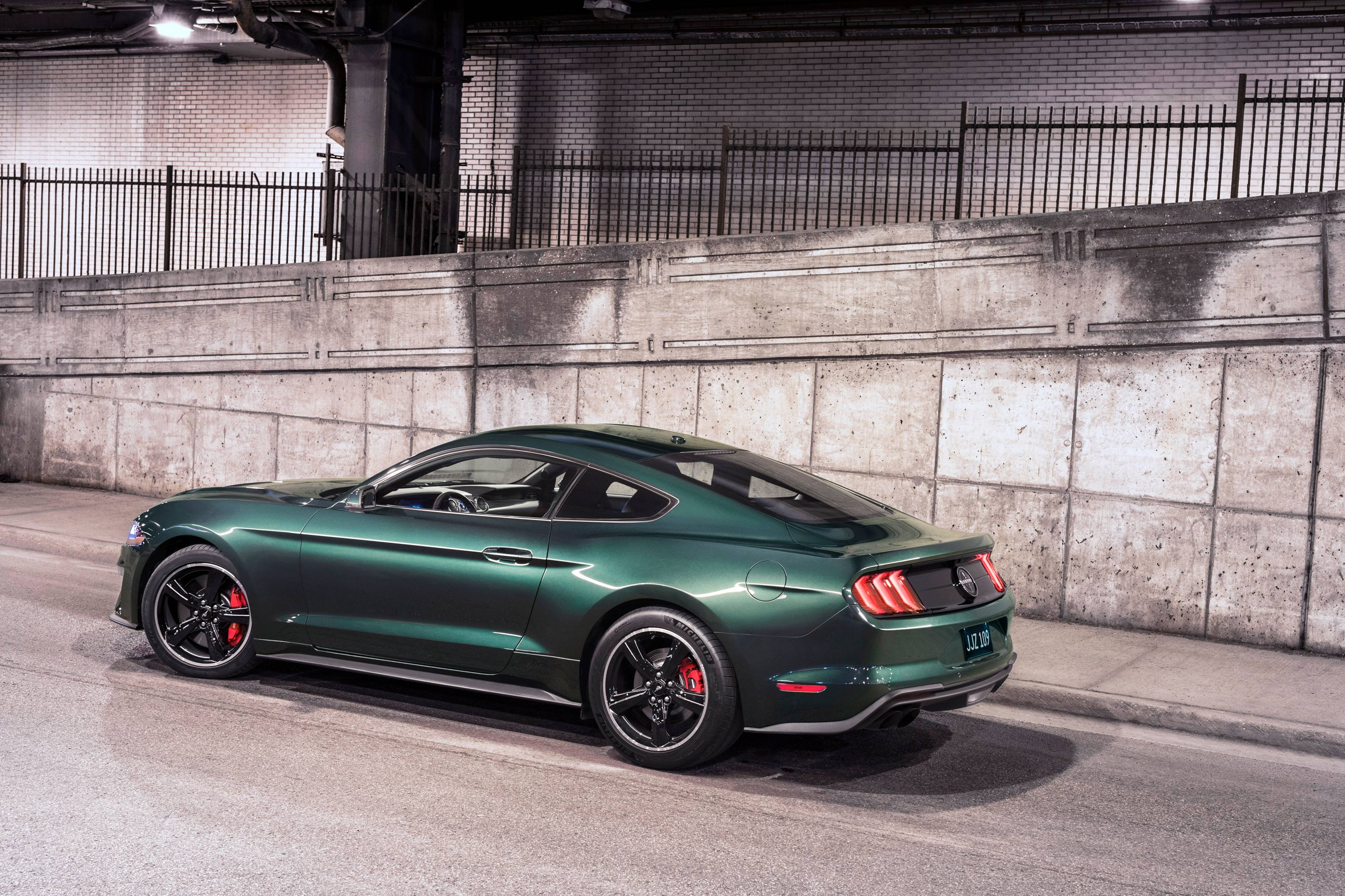2019 Mustang Bullitt profile