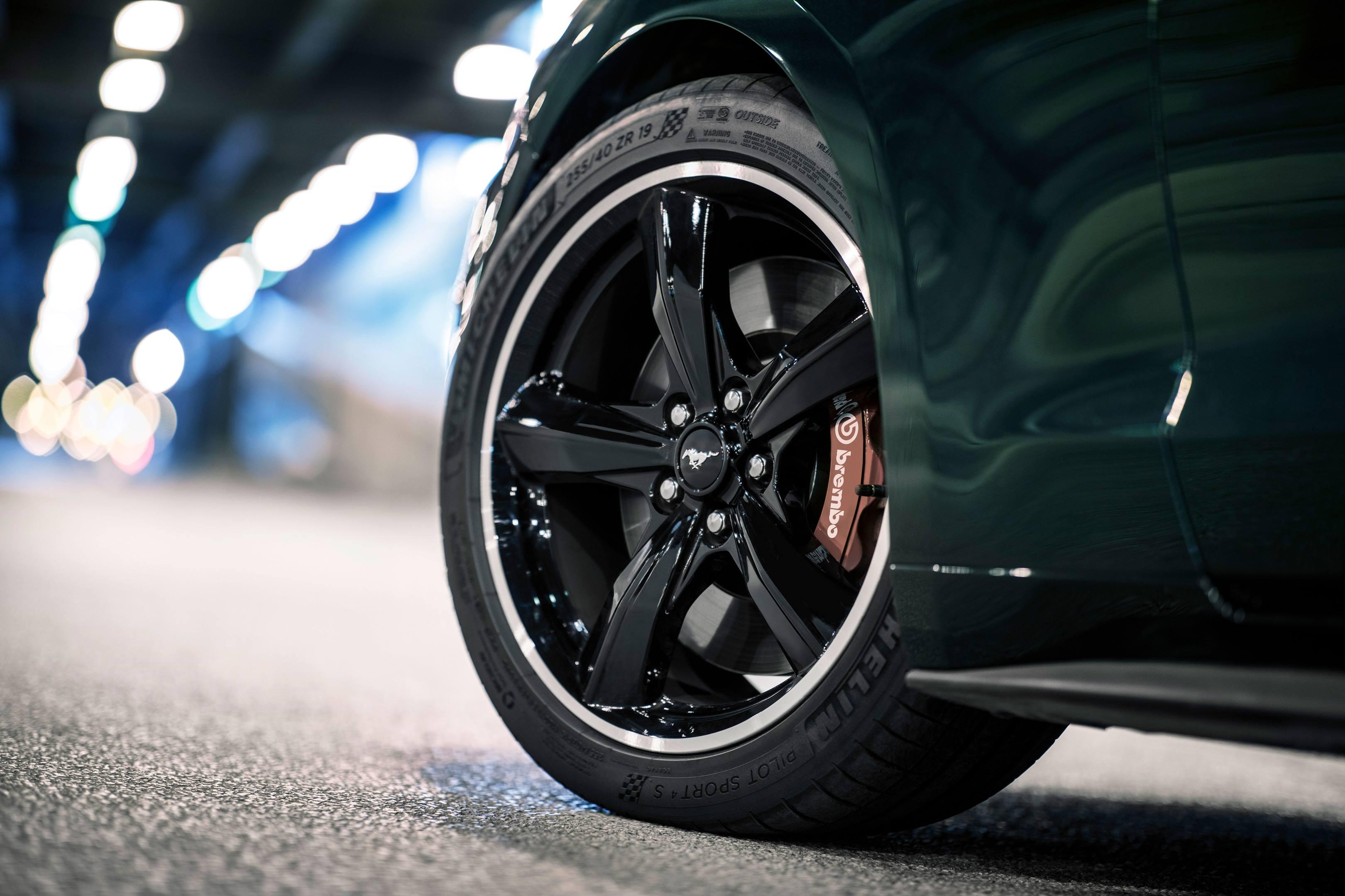2019 Mustang Bullitt wheel detail