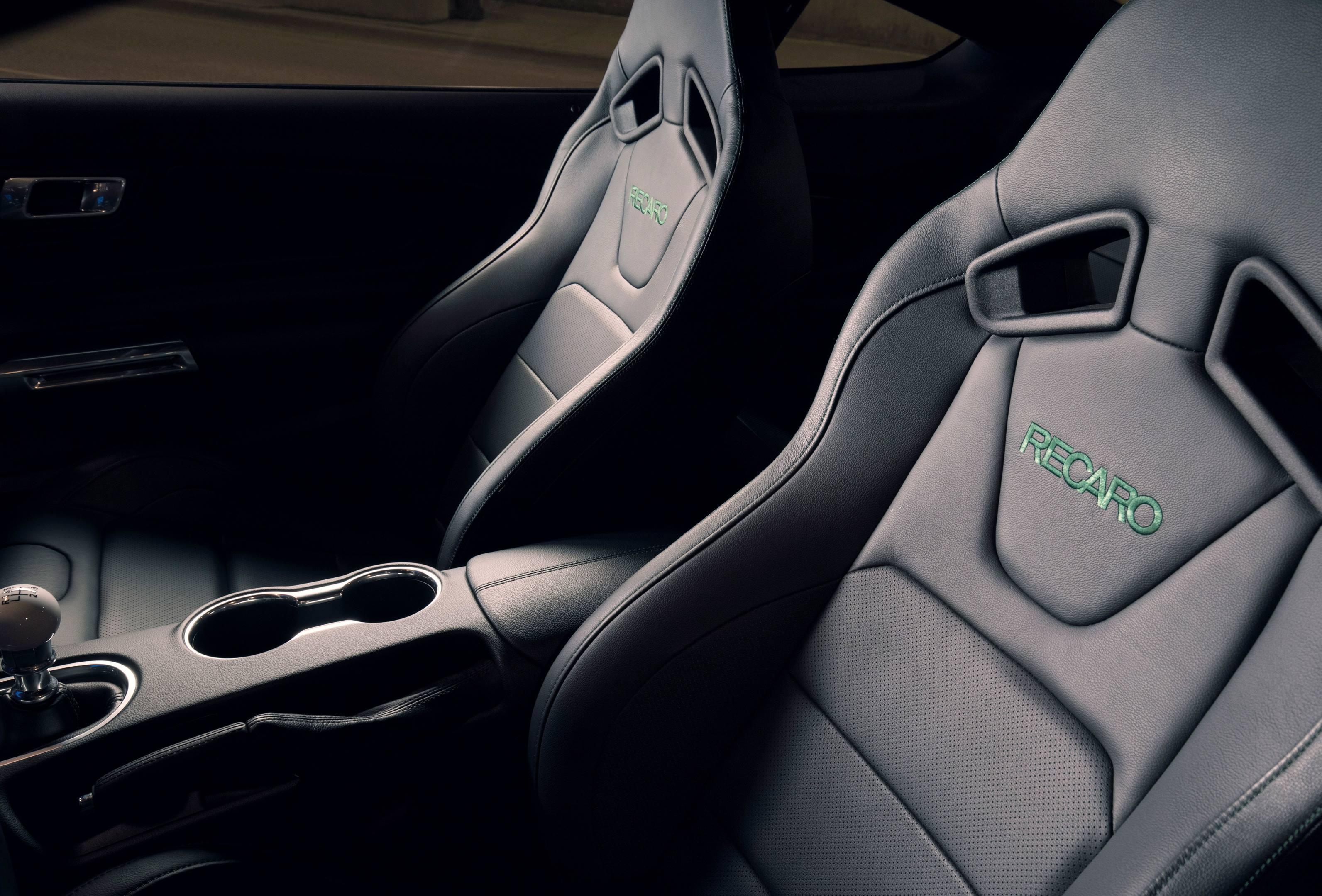 2019 Mustang Bullitt seat detail