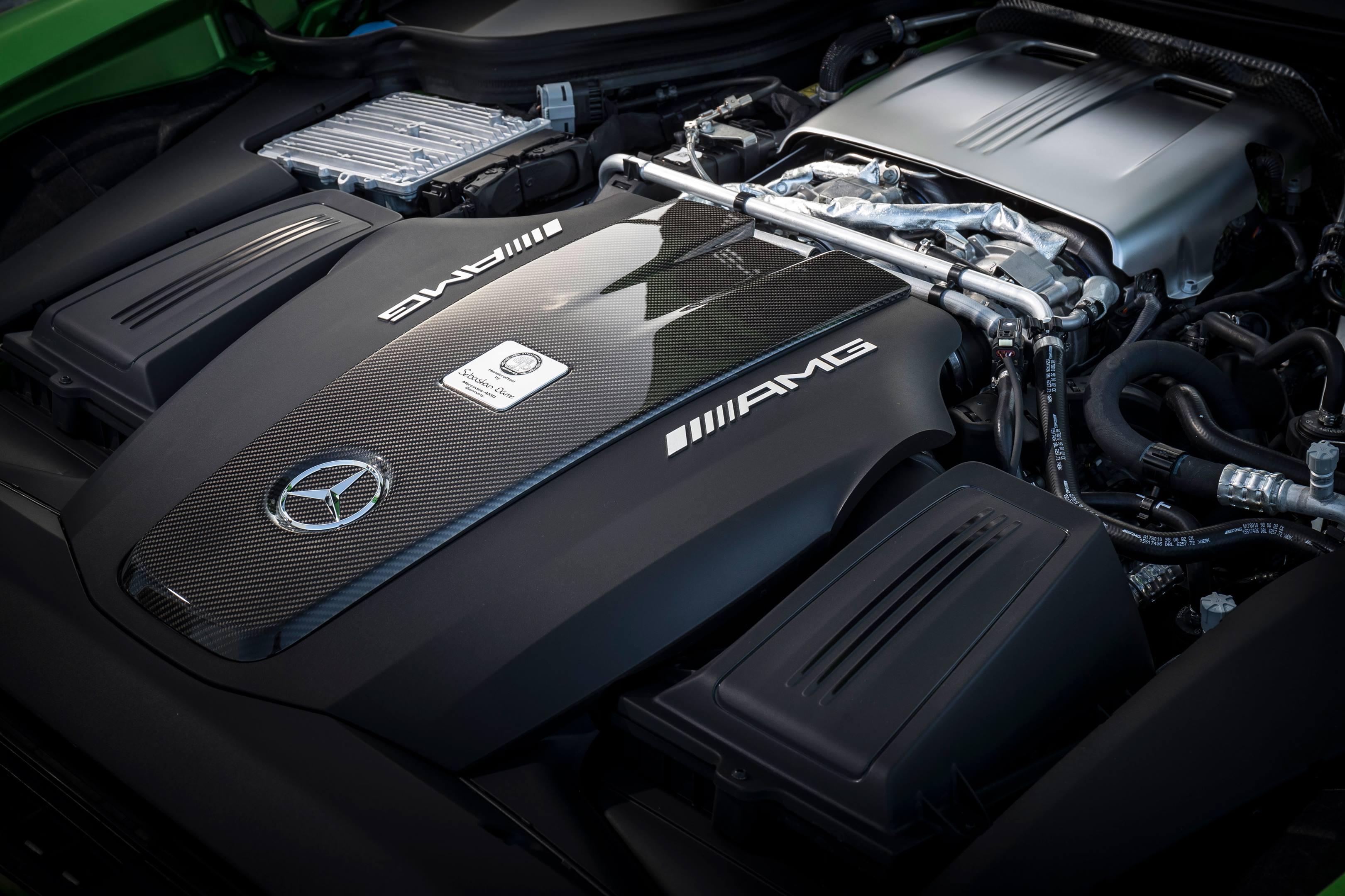 2018 Mercedes-AMG GT R engine