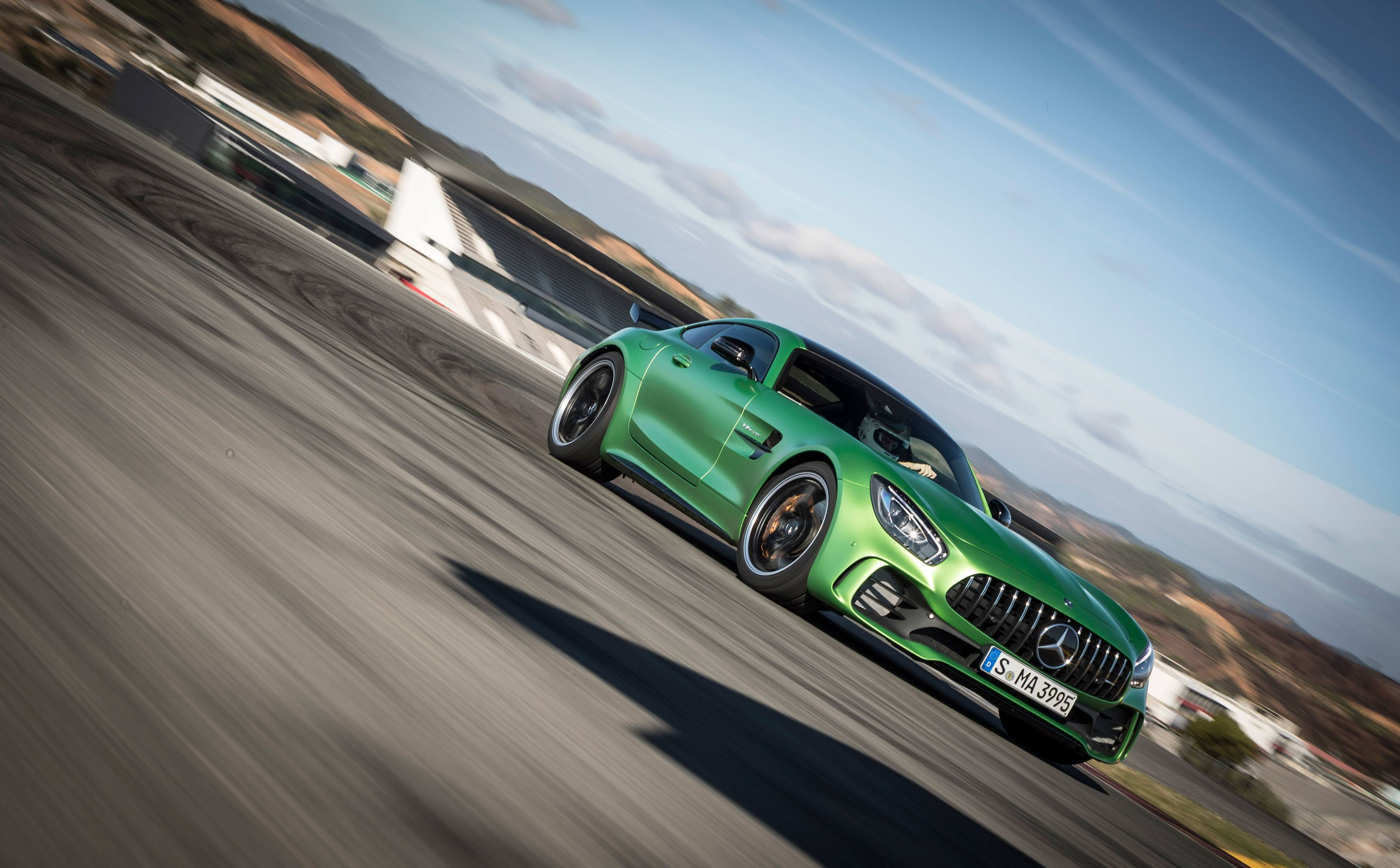 2018 Mercedes-AMG GT R driving