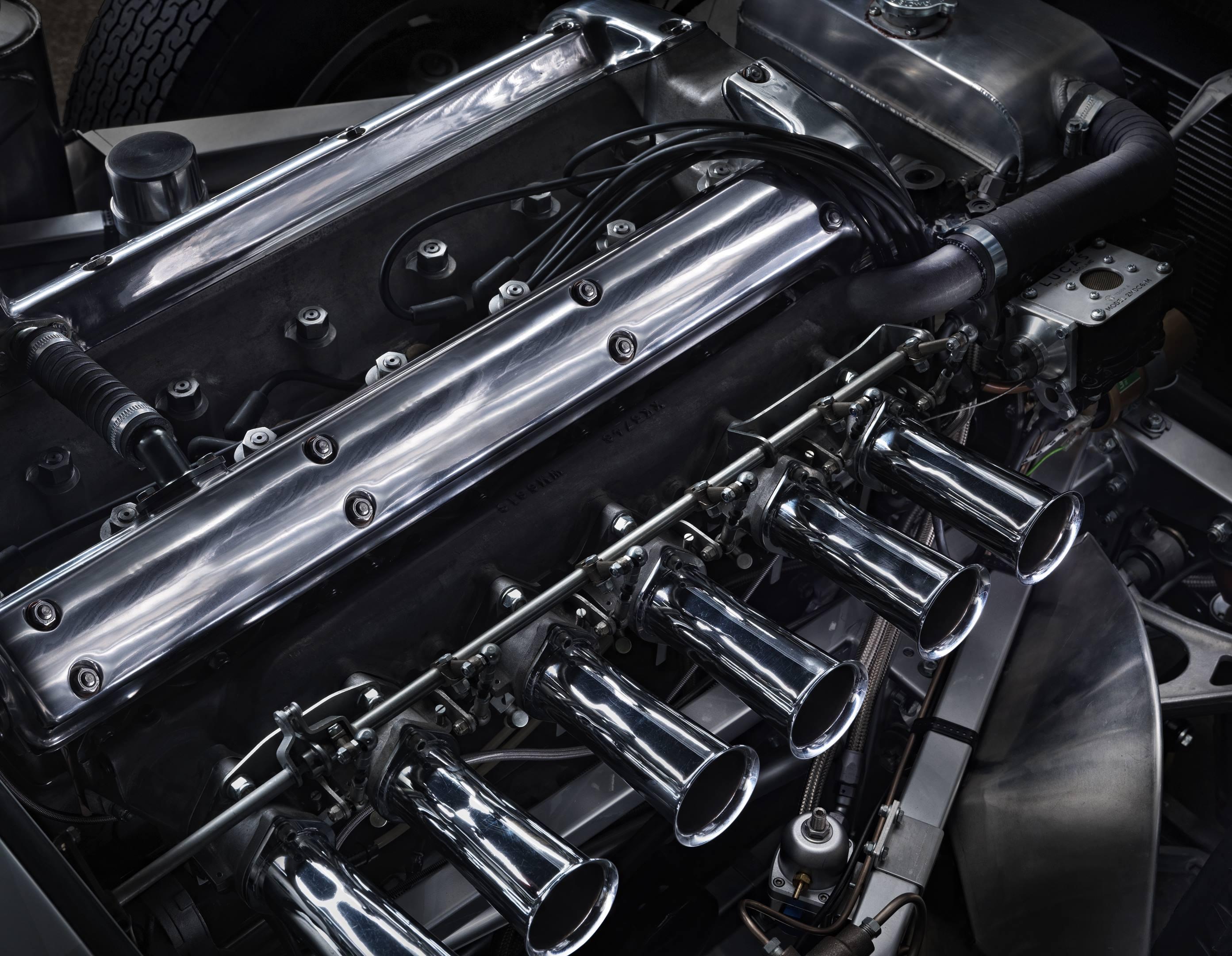 jaguar e type straight six remanufactured