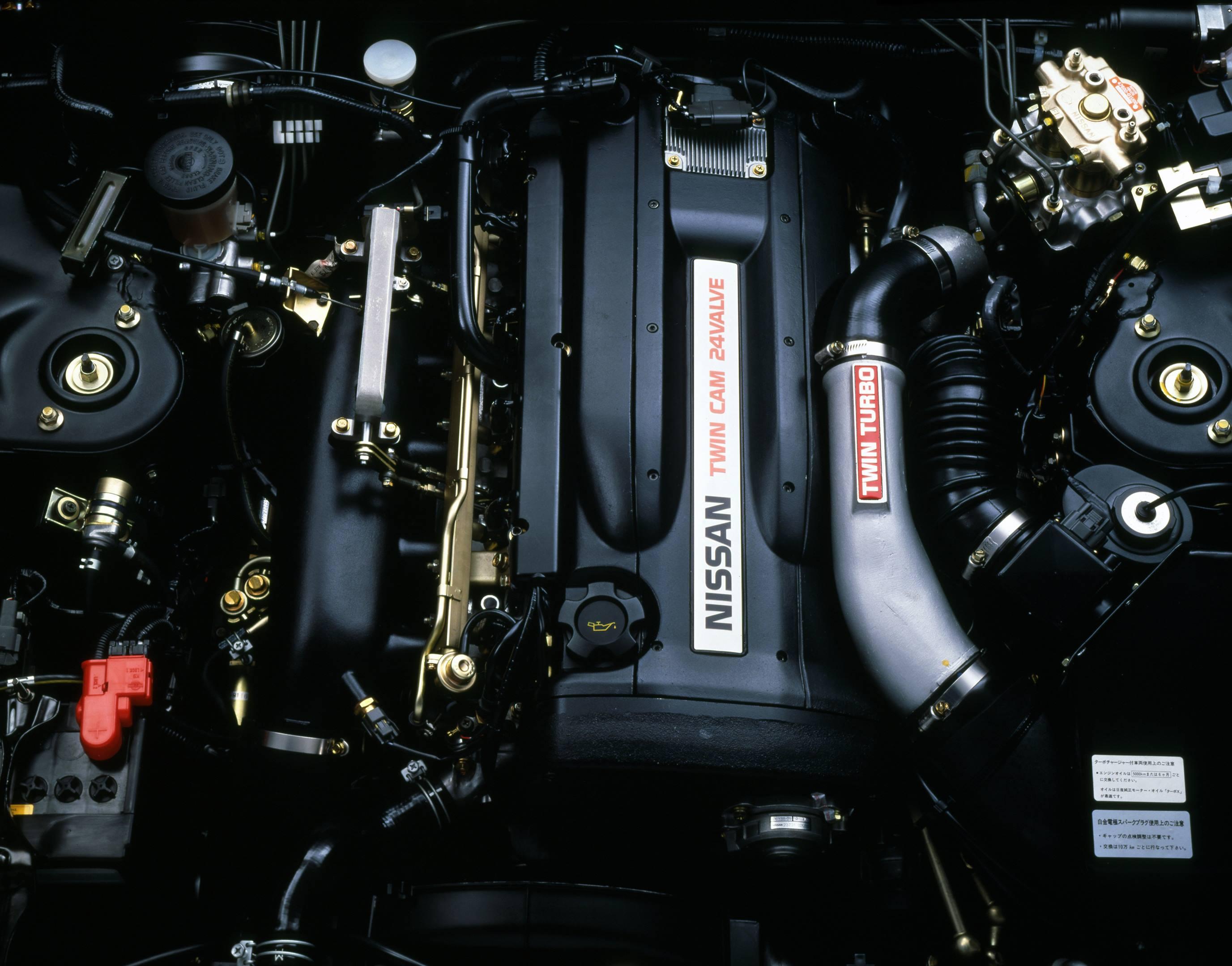 Nissan RB26DETT gt-r engine turbo