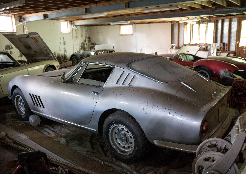 barn find Ferrari 275 GTB/2 Alloy rear 3/4