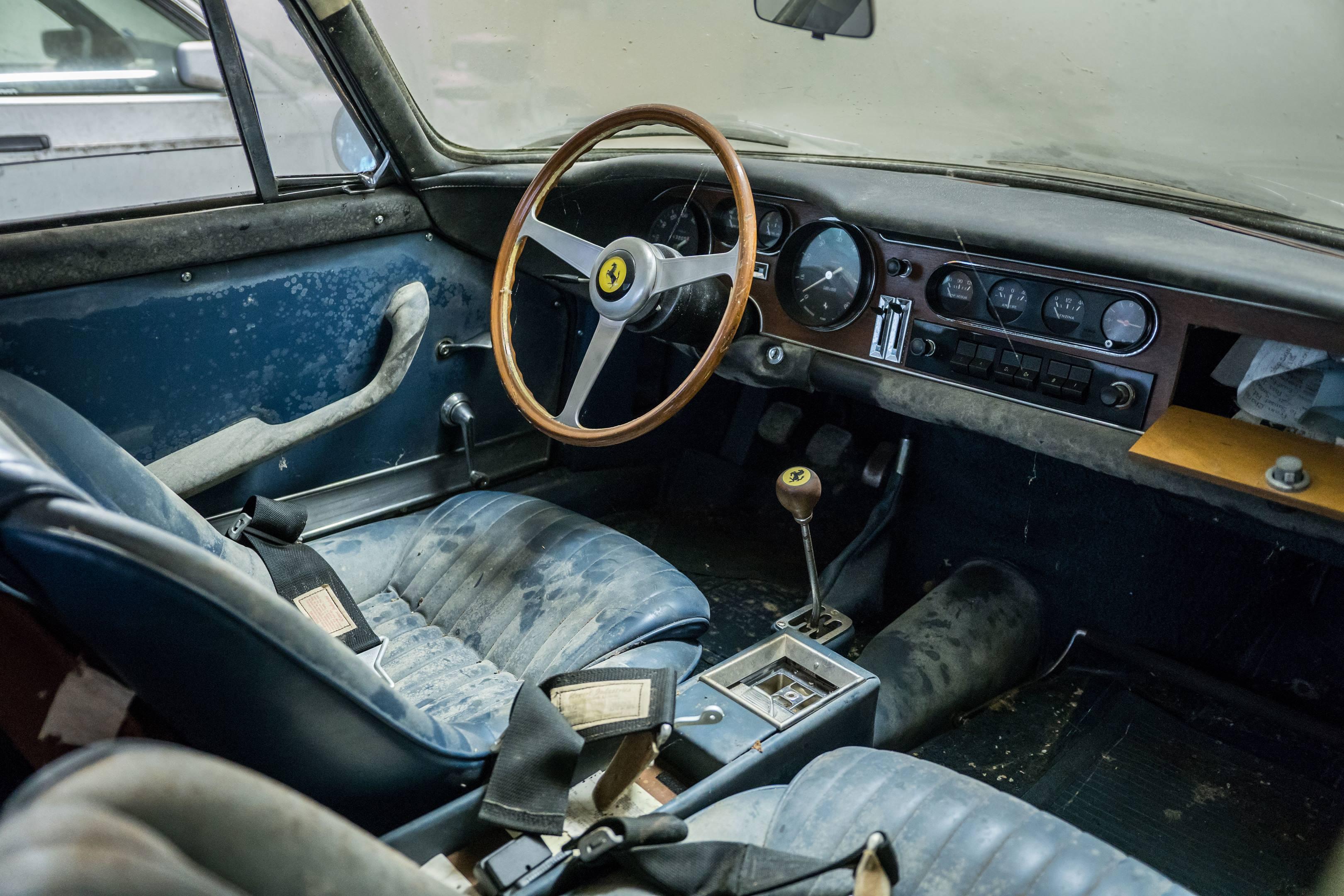 Ferrari 275 GTB/2 Alloy interior