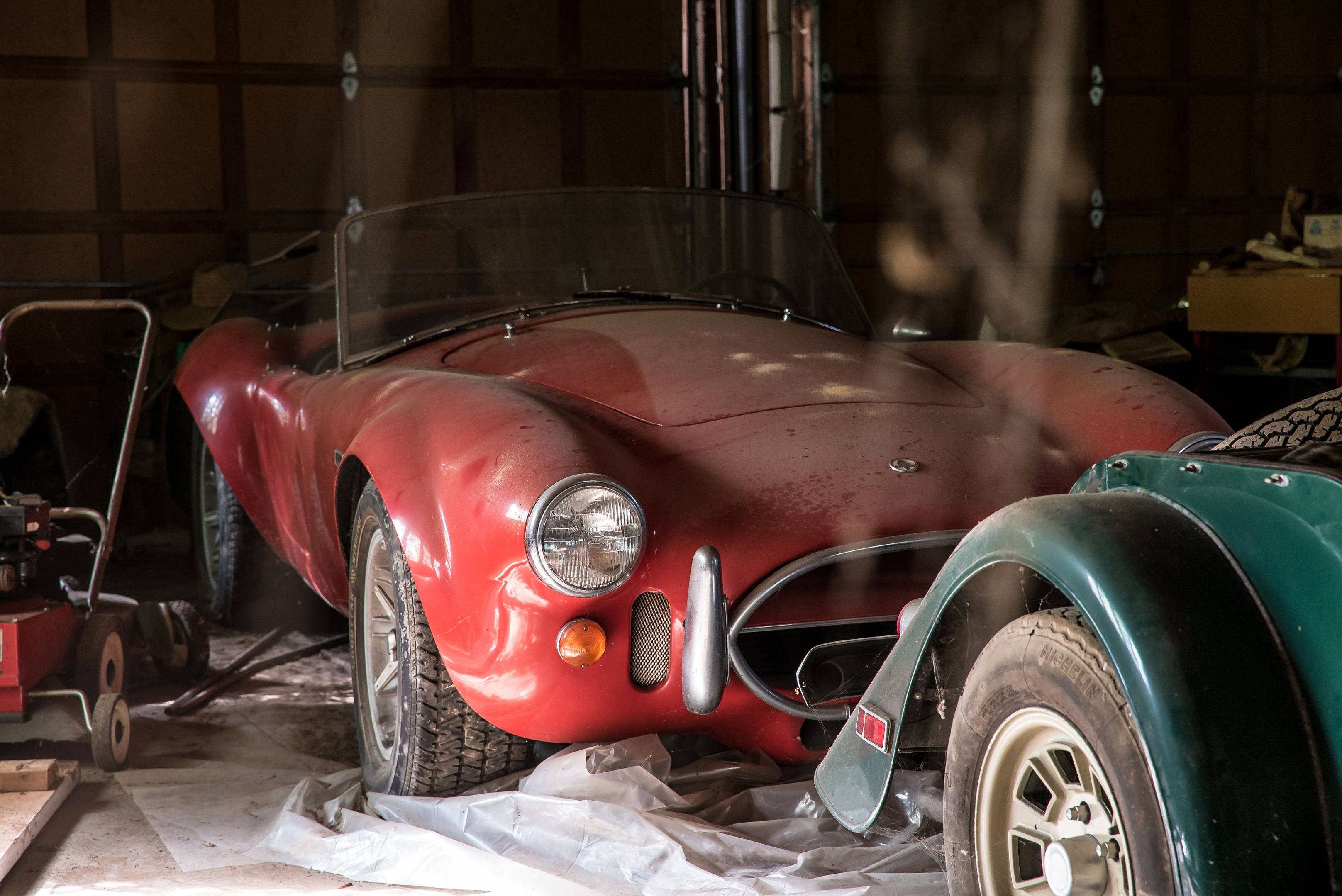 Shelby Cobra barn find