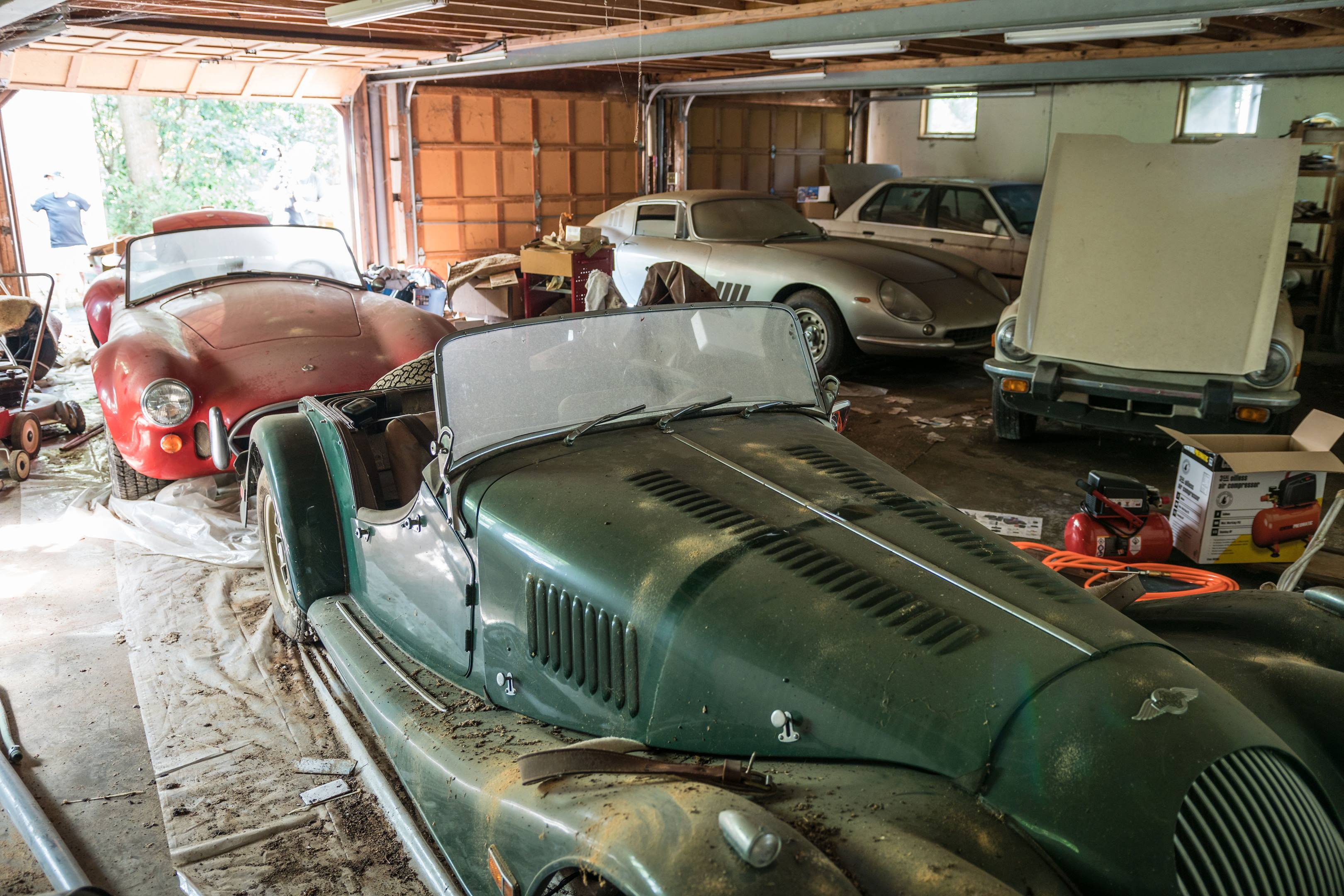 massive barn find found in NC, Ferrari 275 GTB/2 Alloy, 427 Shelby Cobra