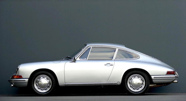 bonhams 1965 porsche 911 coupe silver side