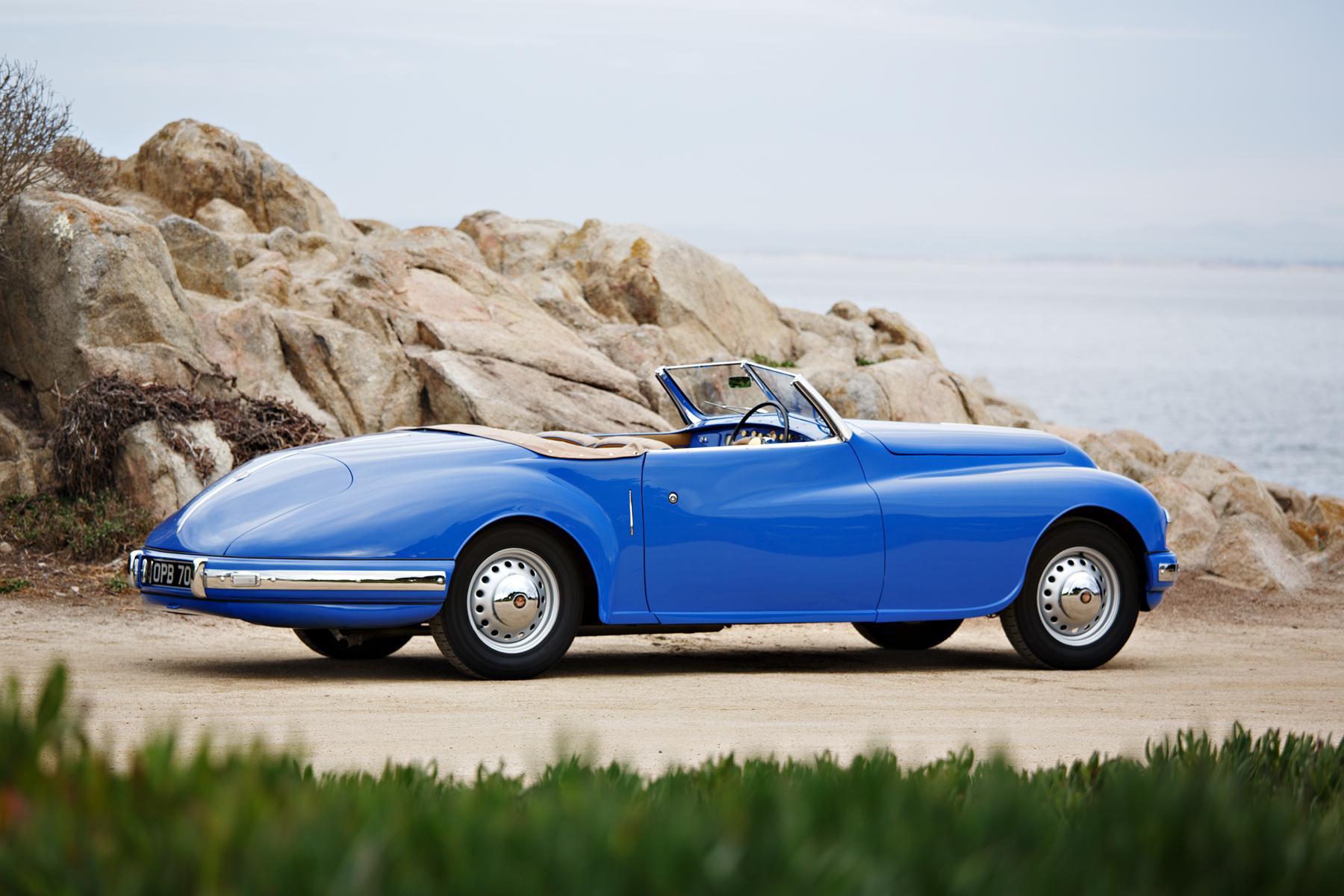 1949 Bristol 402 Cabriolet profile