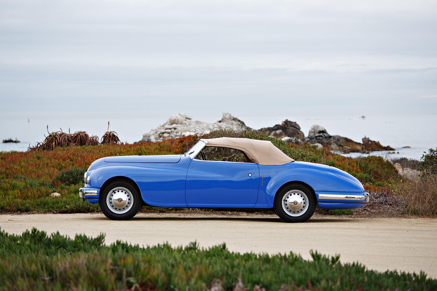 1949 Bristol 402 Cabriolet top up