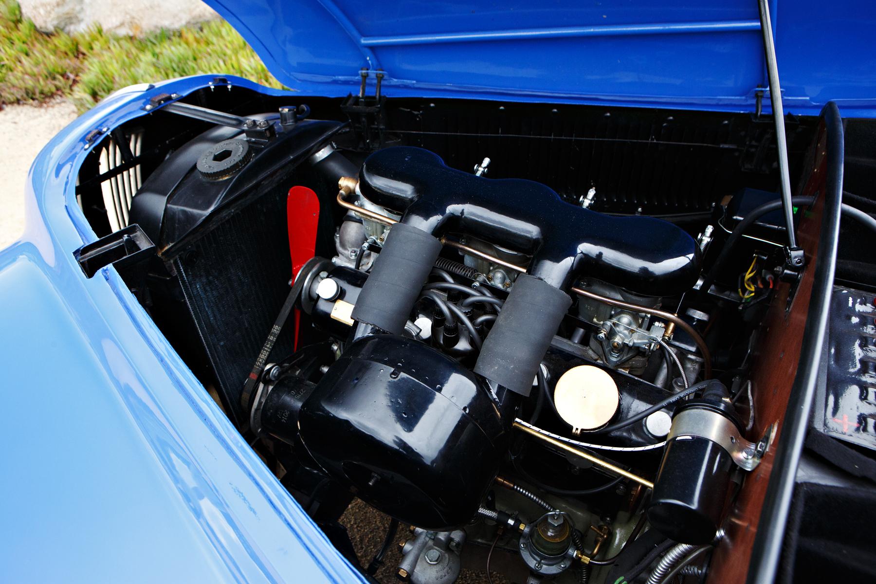 1949 Bristol 402 Cabriolet engine