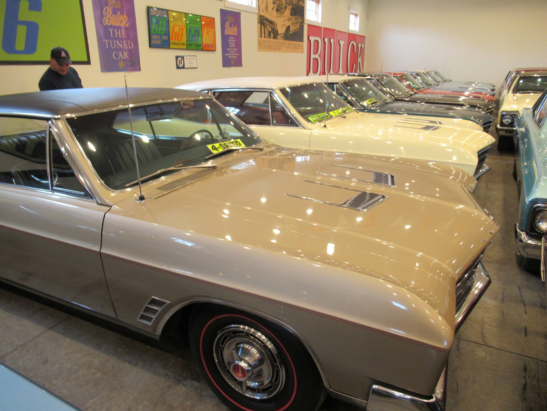 line up of 1966 Buick Skylark GS