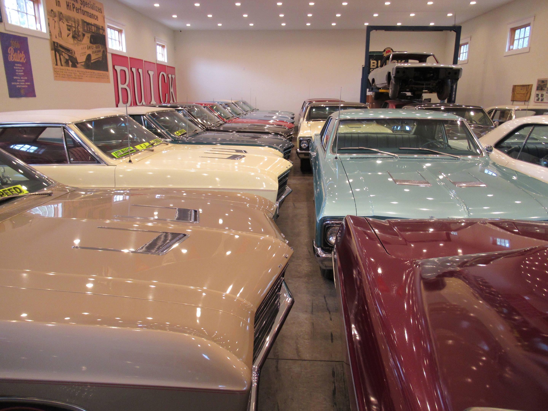 1966 Buick Skylark GS hood details