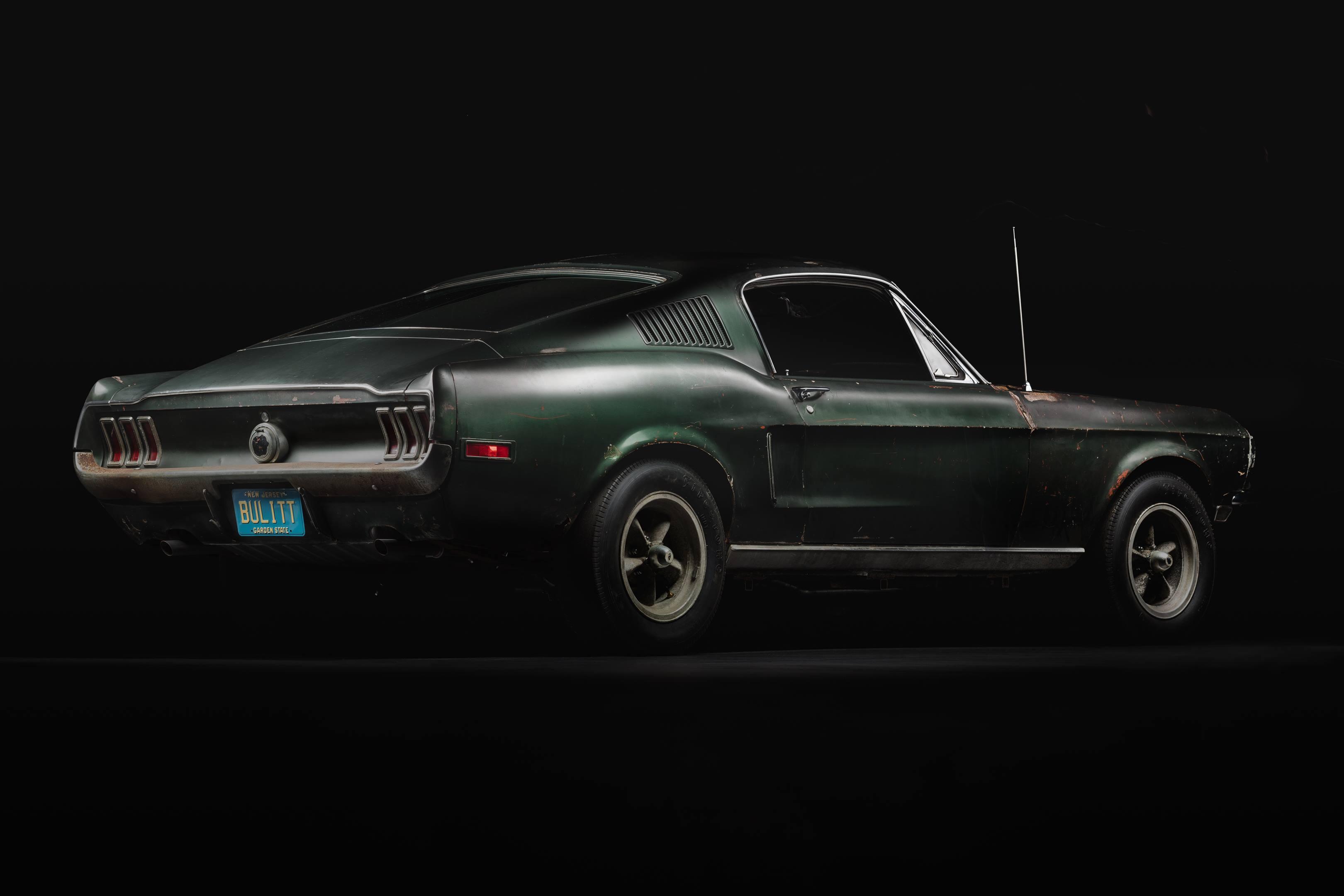 Bullitt Mustang rear 3/4