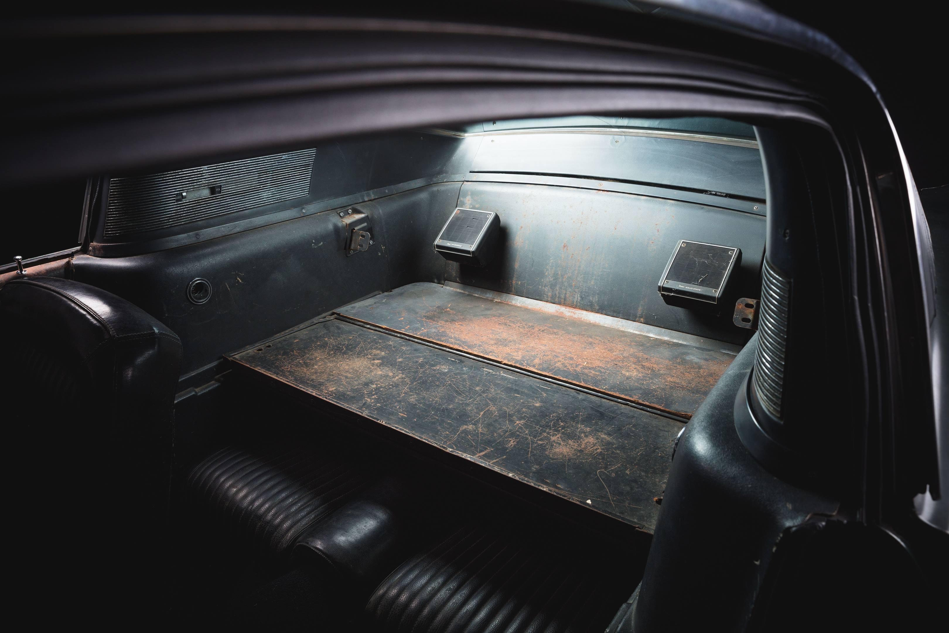 Bullitt Mustang speakers