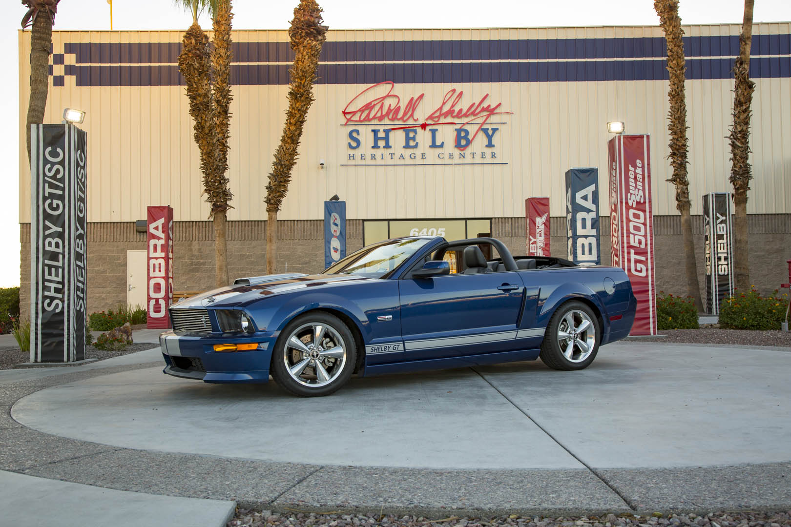2007 Shelby GT convertible prototype profile
