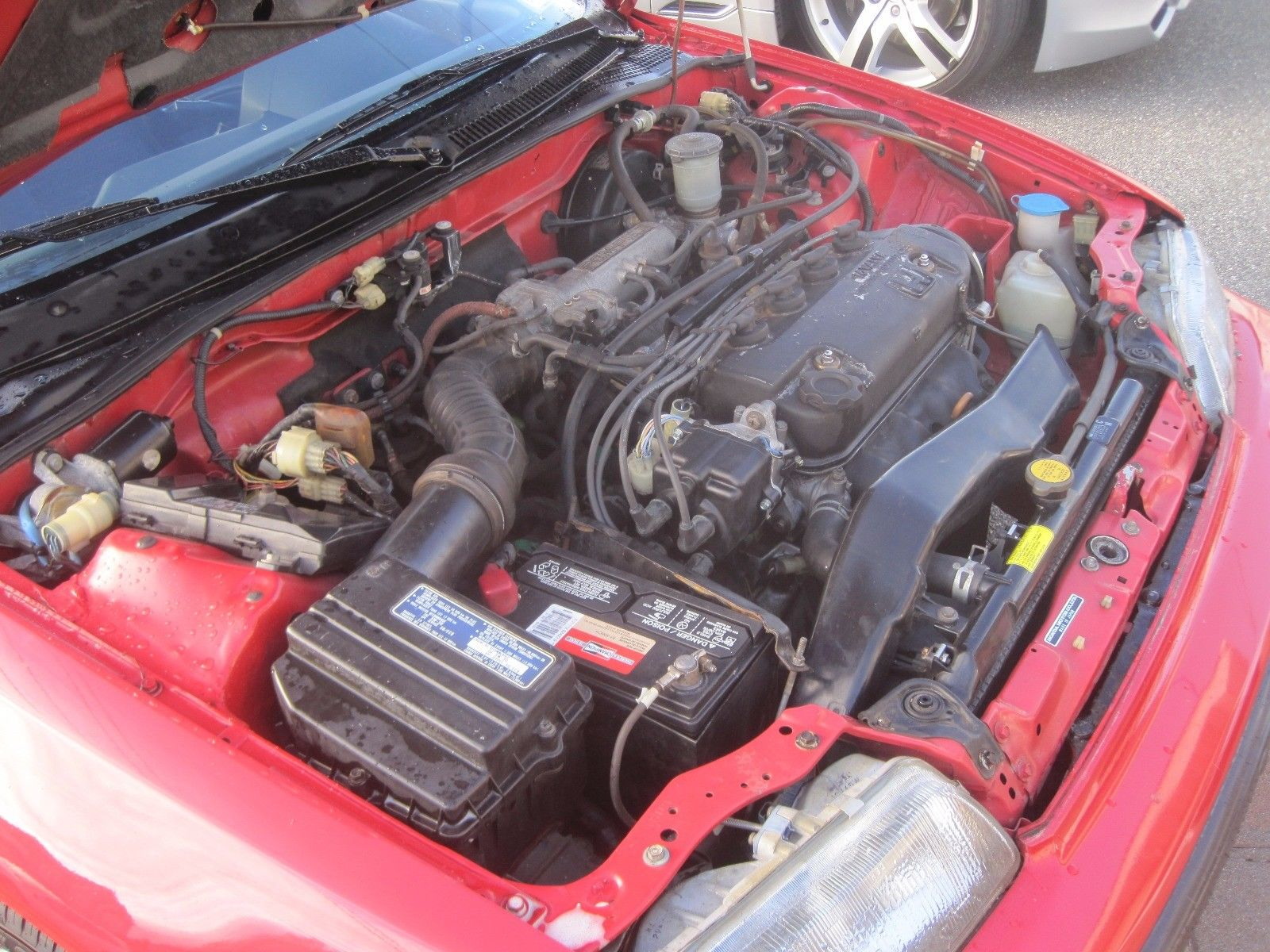 1991 Honda CRX si engine