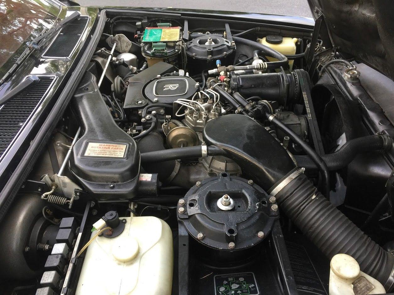 1986 Rolls-Royce Silver Spirit engine
