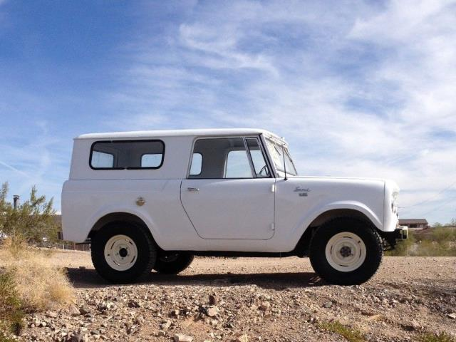 The IH Scout is the bargain alternative to the Blazer and Bronco