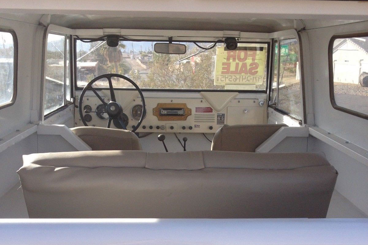 ebay 1962 International scout interior