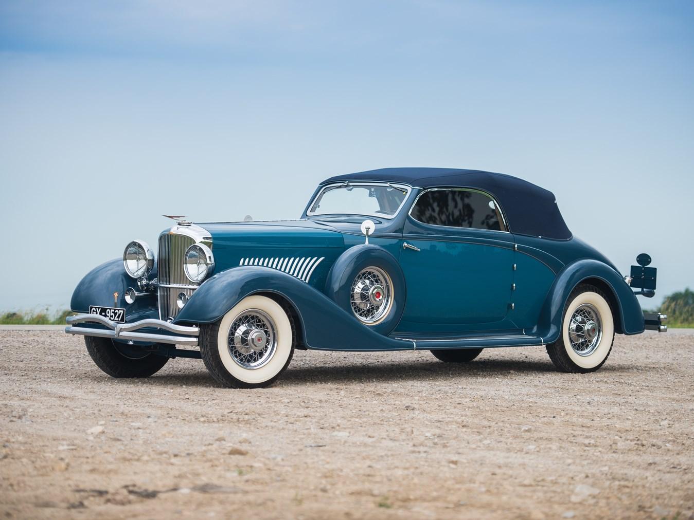 1935 Duesenberg Model J Cabriolet