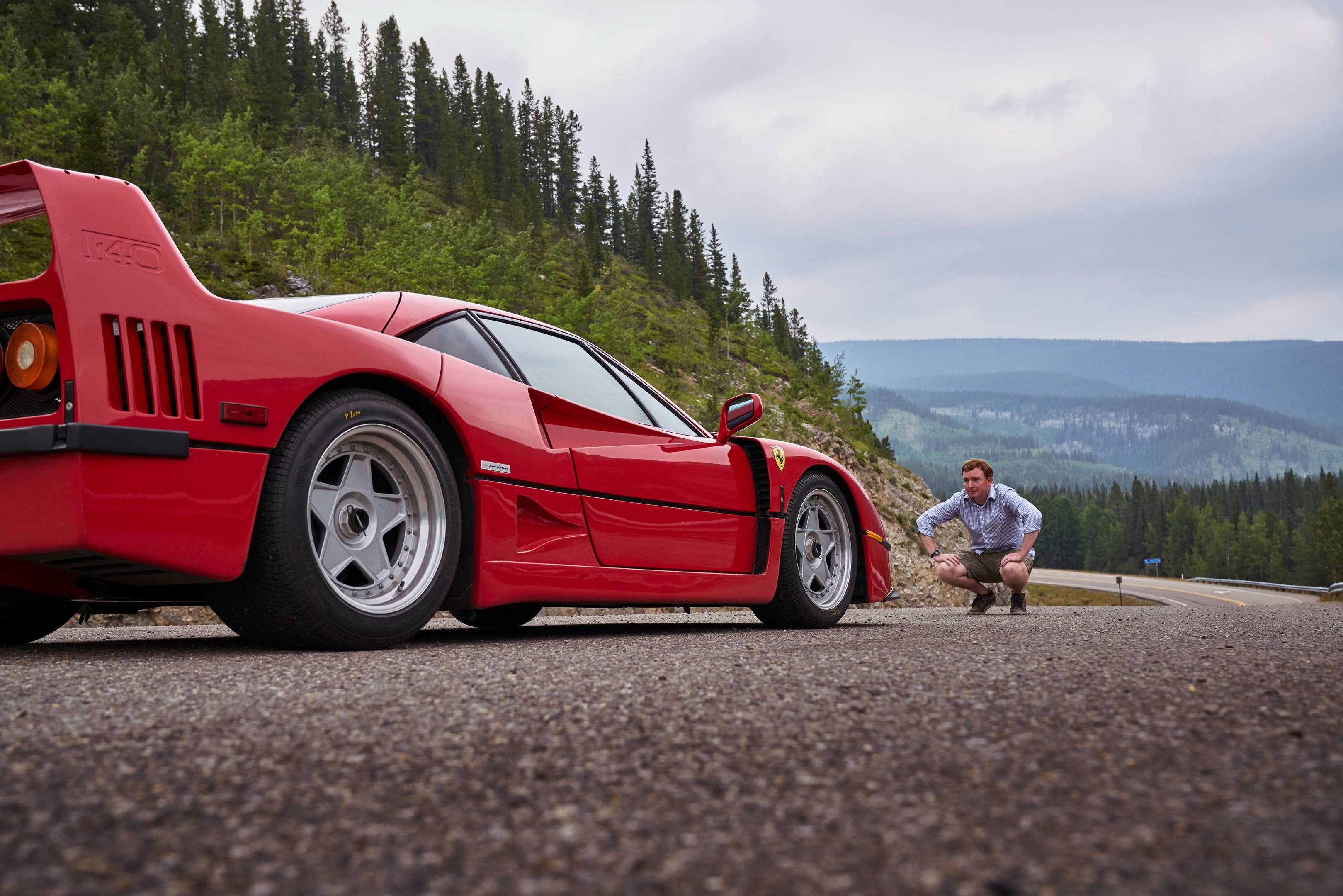 As a boy in rural Canada, the closest Brendan McAleer got to his fantasy car, the Ferrari F40, was through a video game. Thirty years later, he finally meets his idol.
