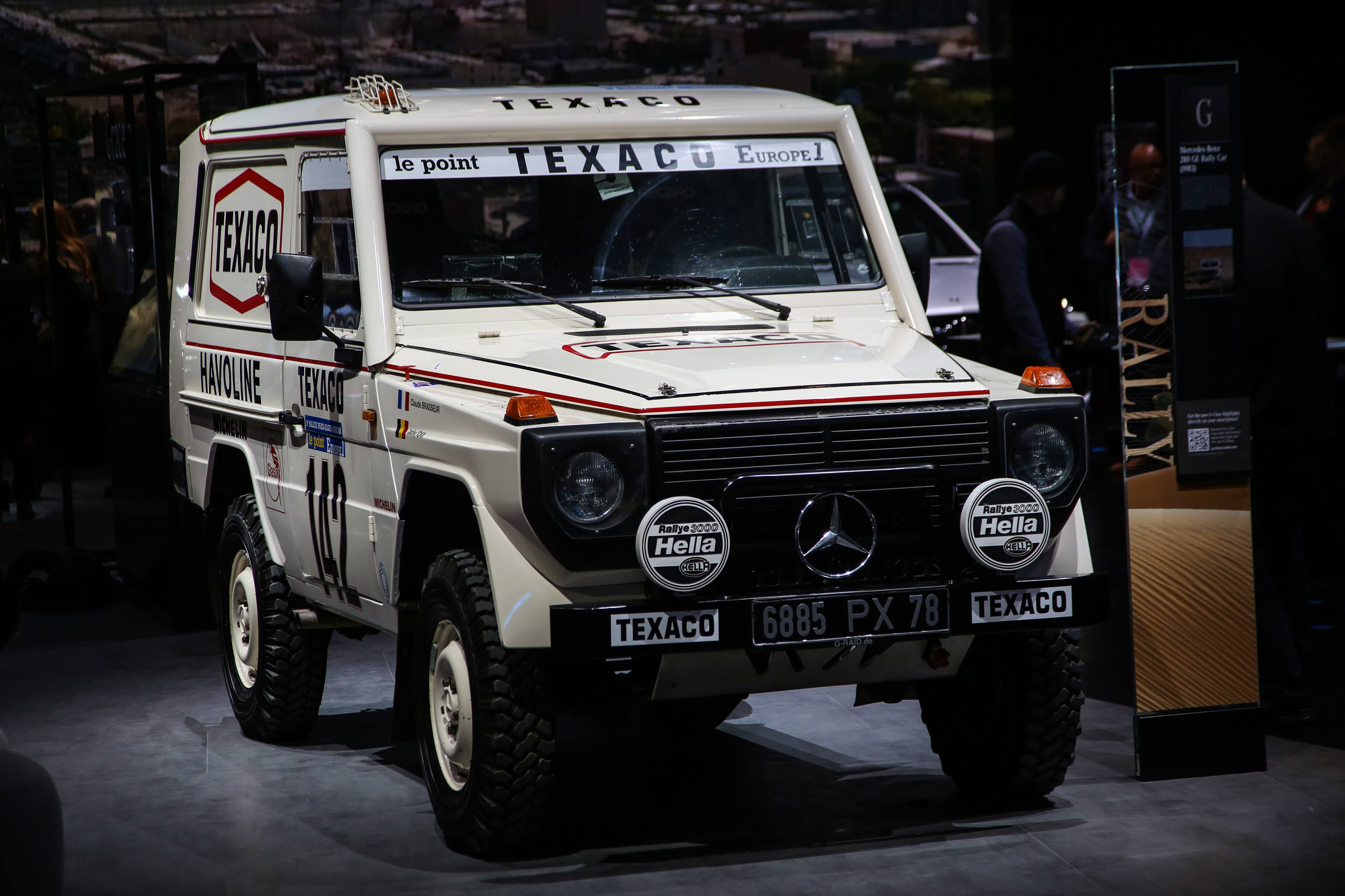 1983 Mercedes-Benz 280 GE Paris Dakar Rally