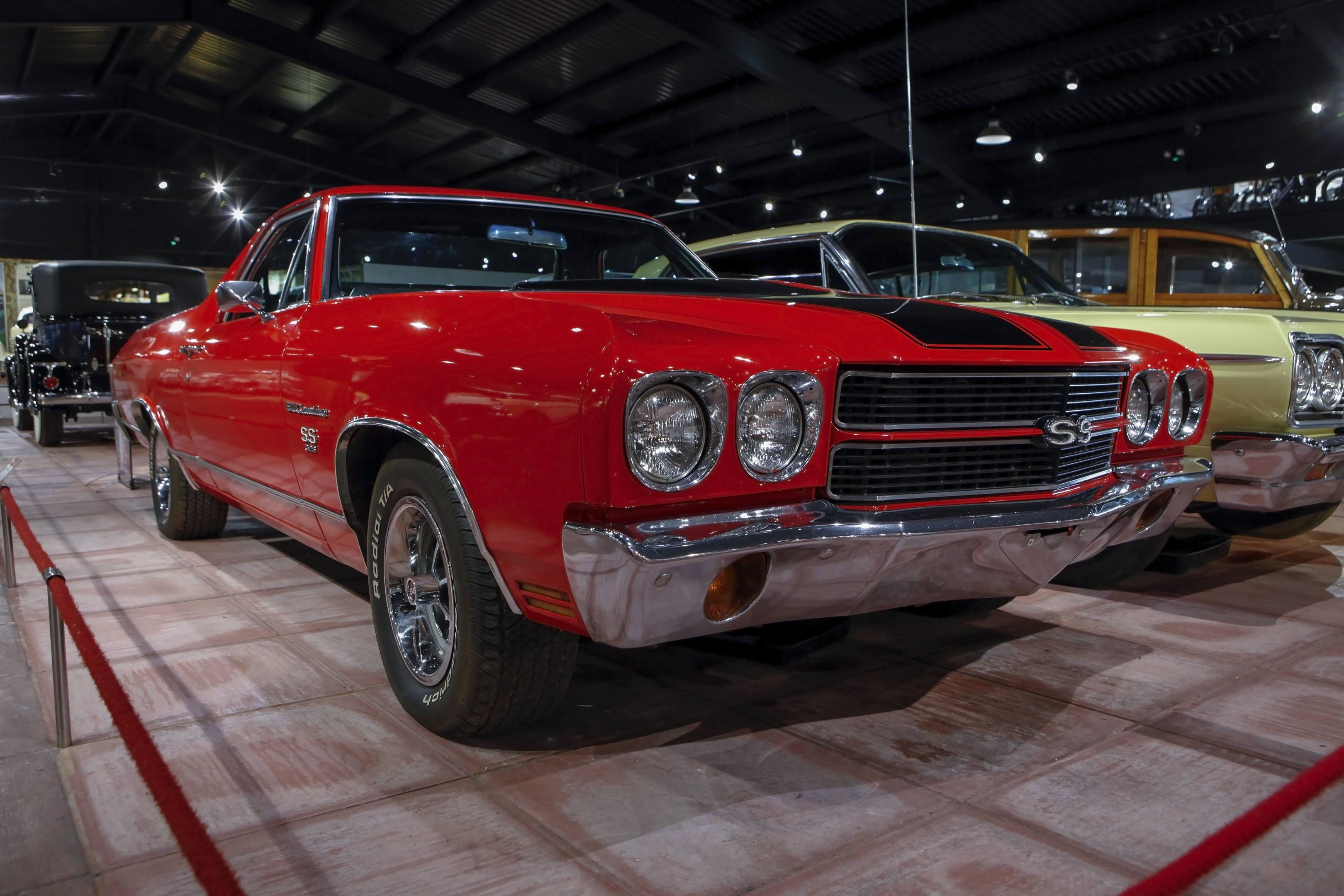 Chevrolet El Camino SS red haynes museum