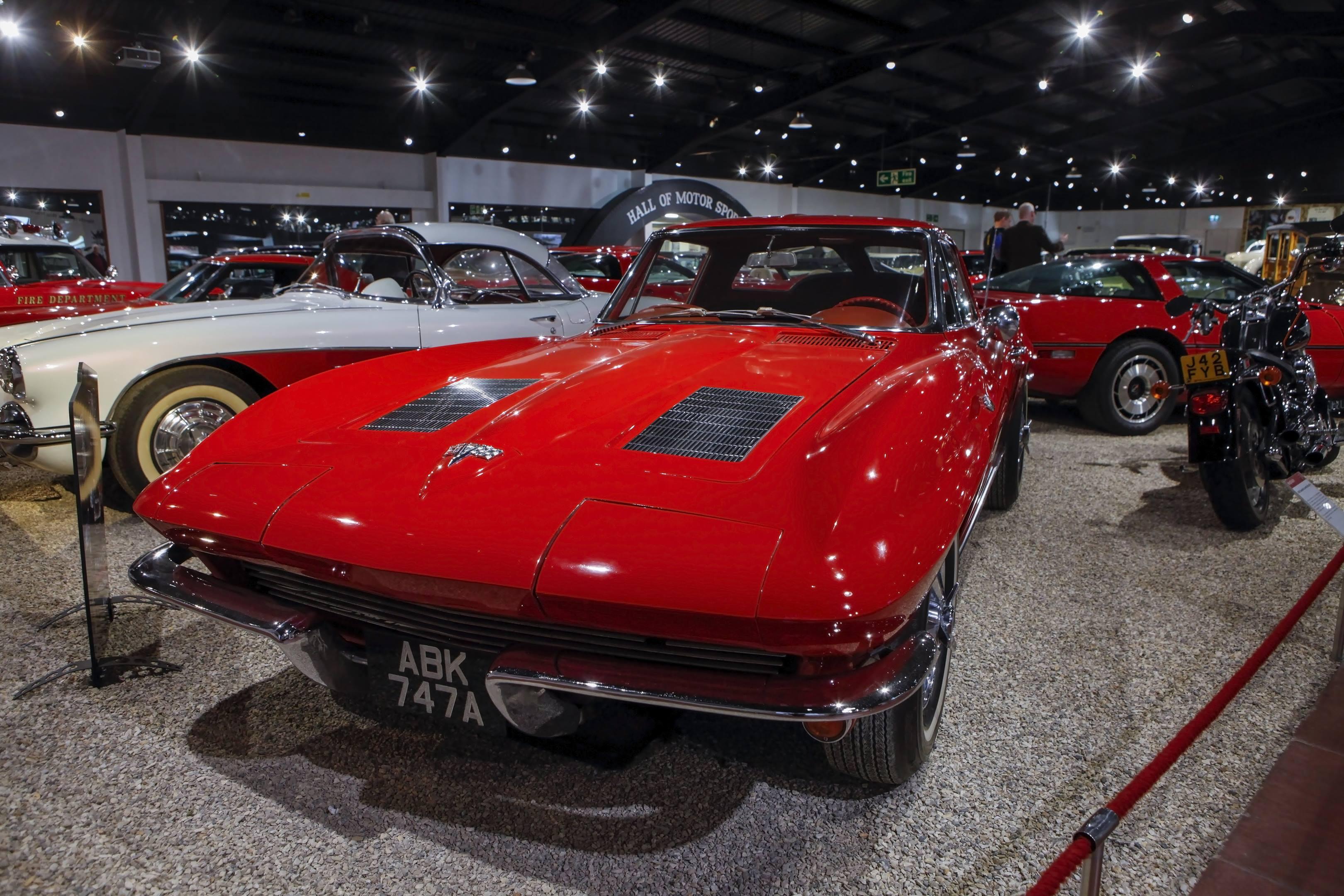 1963 Stingrag Chevrolet Corvette in the Haynes International Motor Museum