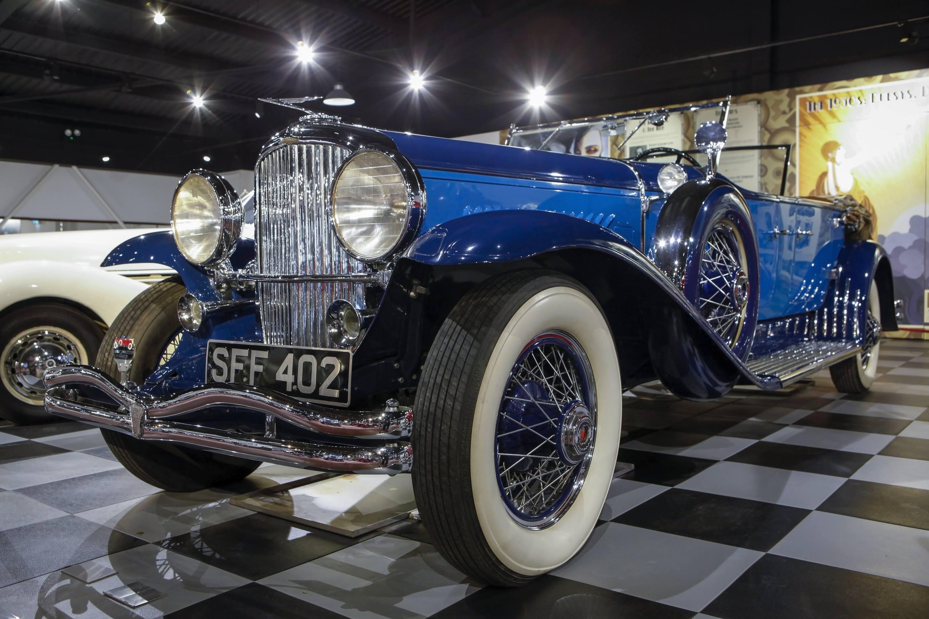 1931 duesenberg model j at the Haynes International Motor Museum