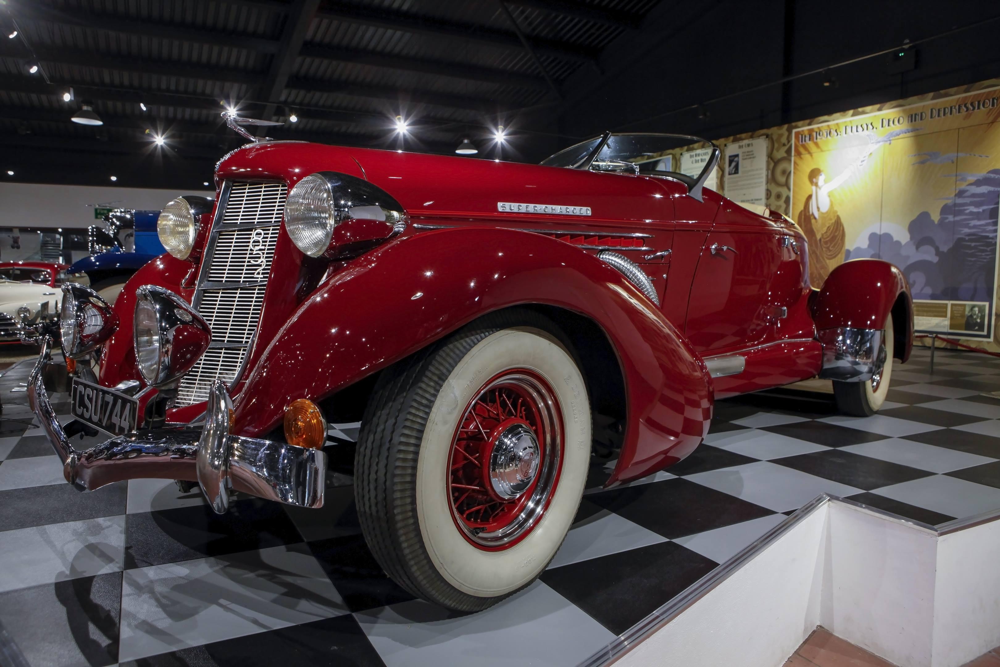 Auburn 852 speedster haynes museum 1936