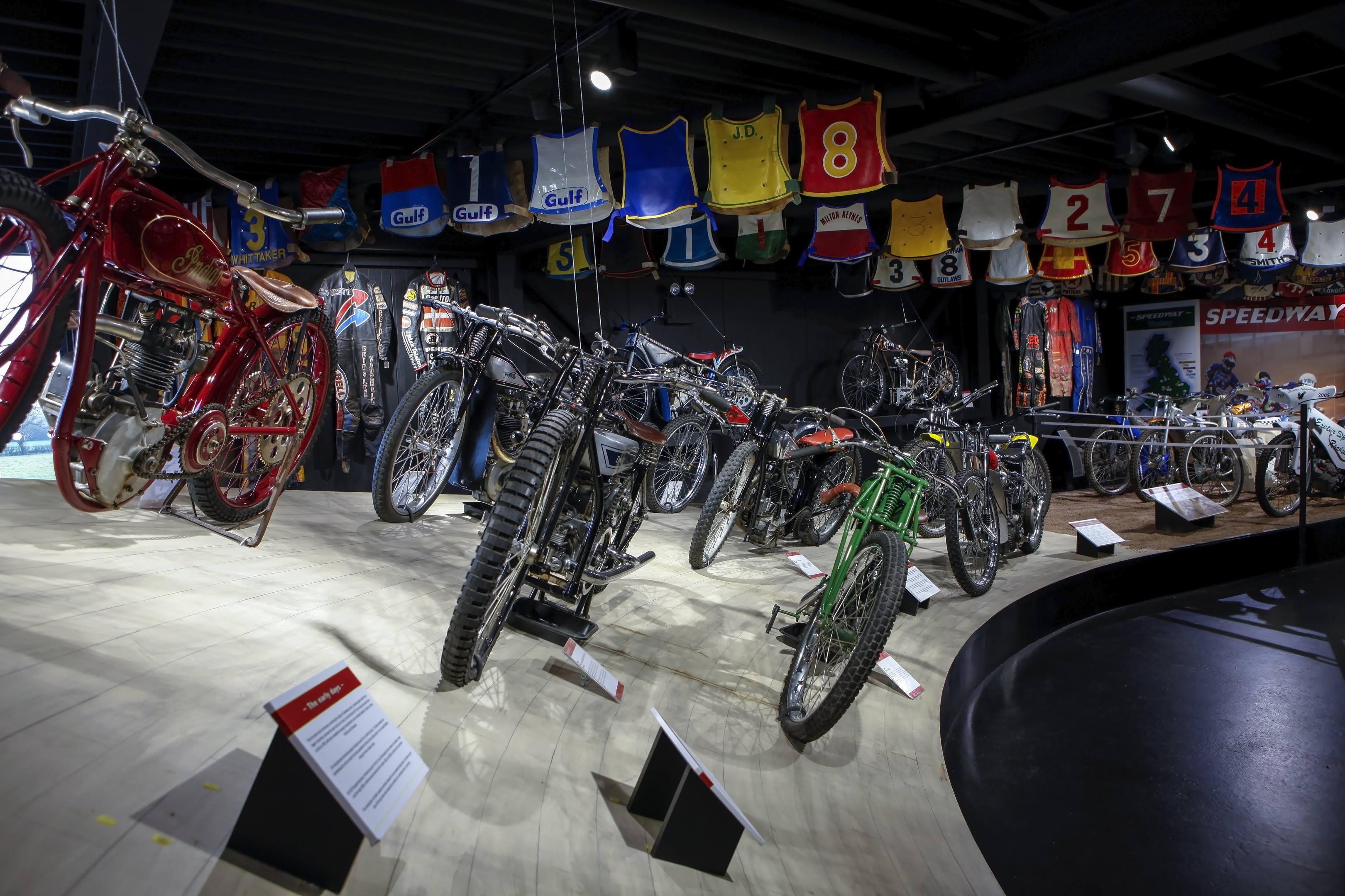motorcycles at the Haynes International Motor Museum