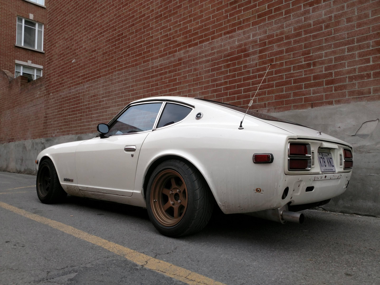 1978 Datsun 280Z left hand rear corner